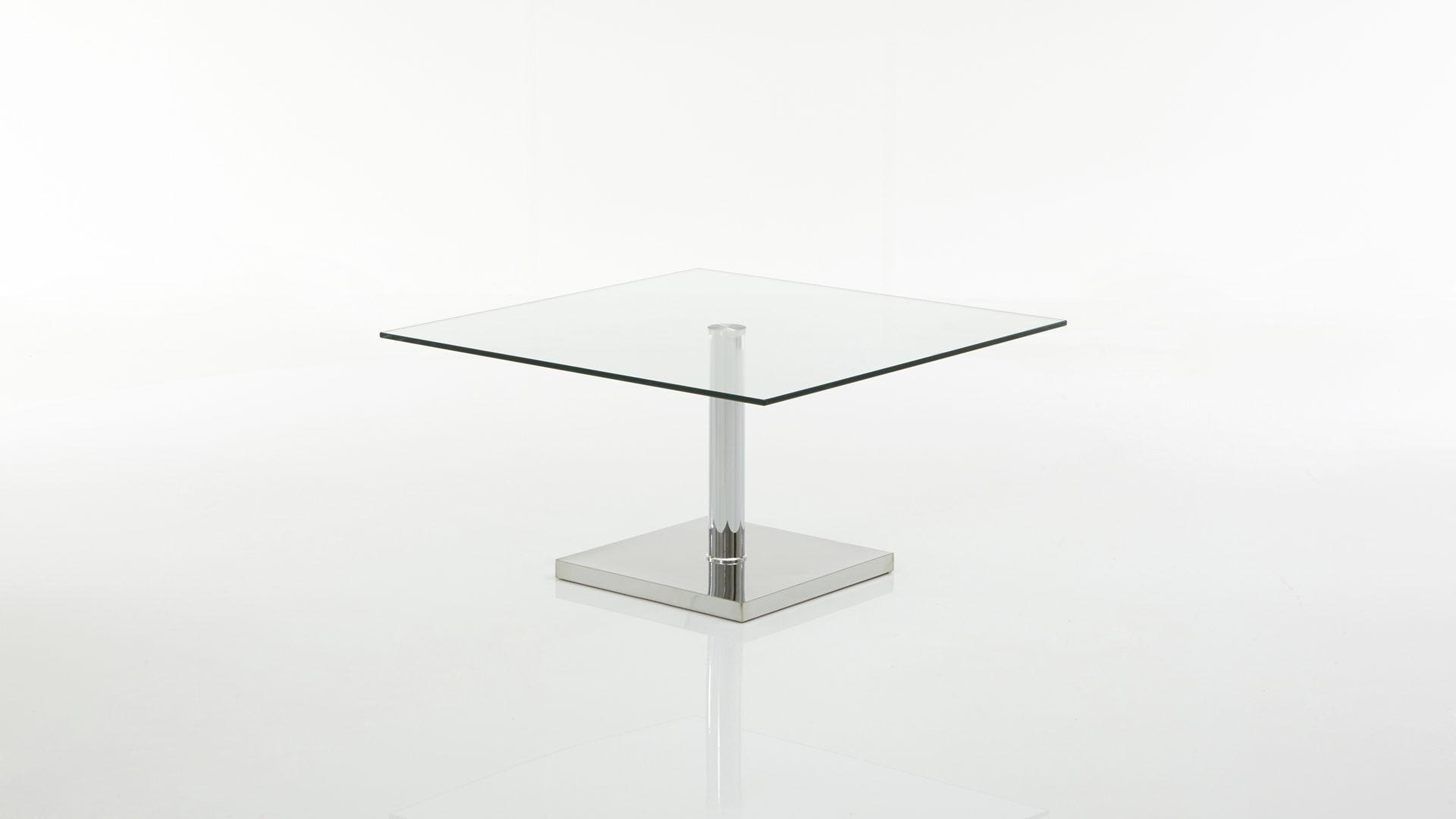 Couchtisch Bzw Glastisch Als Wohnzimmermöbel Klarglas Ca 80 X