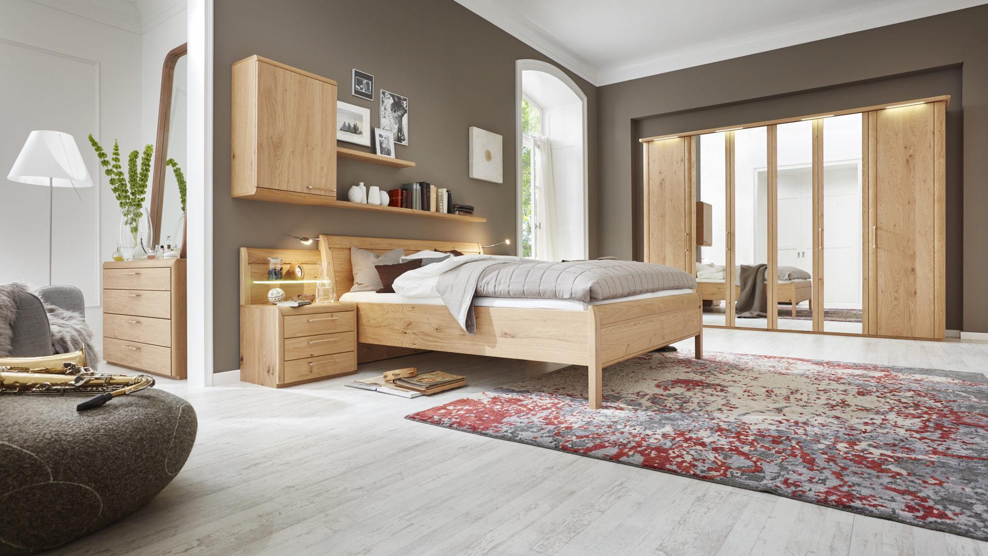 Interliving Schlafzimmer Serie 1001 – Schlafzimmerkombination, Bad ...