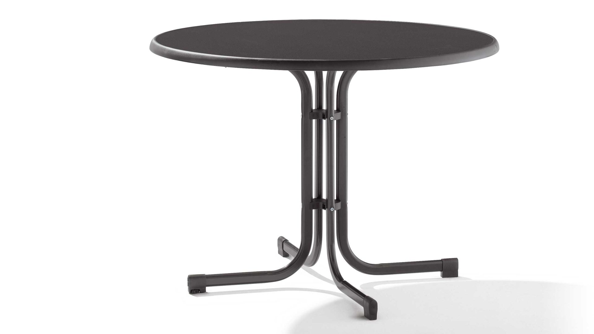 Sieger Klapptisch Gartentisch Tischplatte Mecalit D 100 Cm