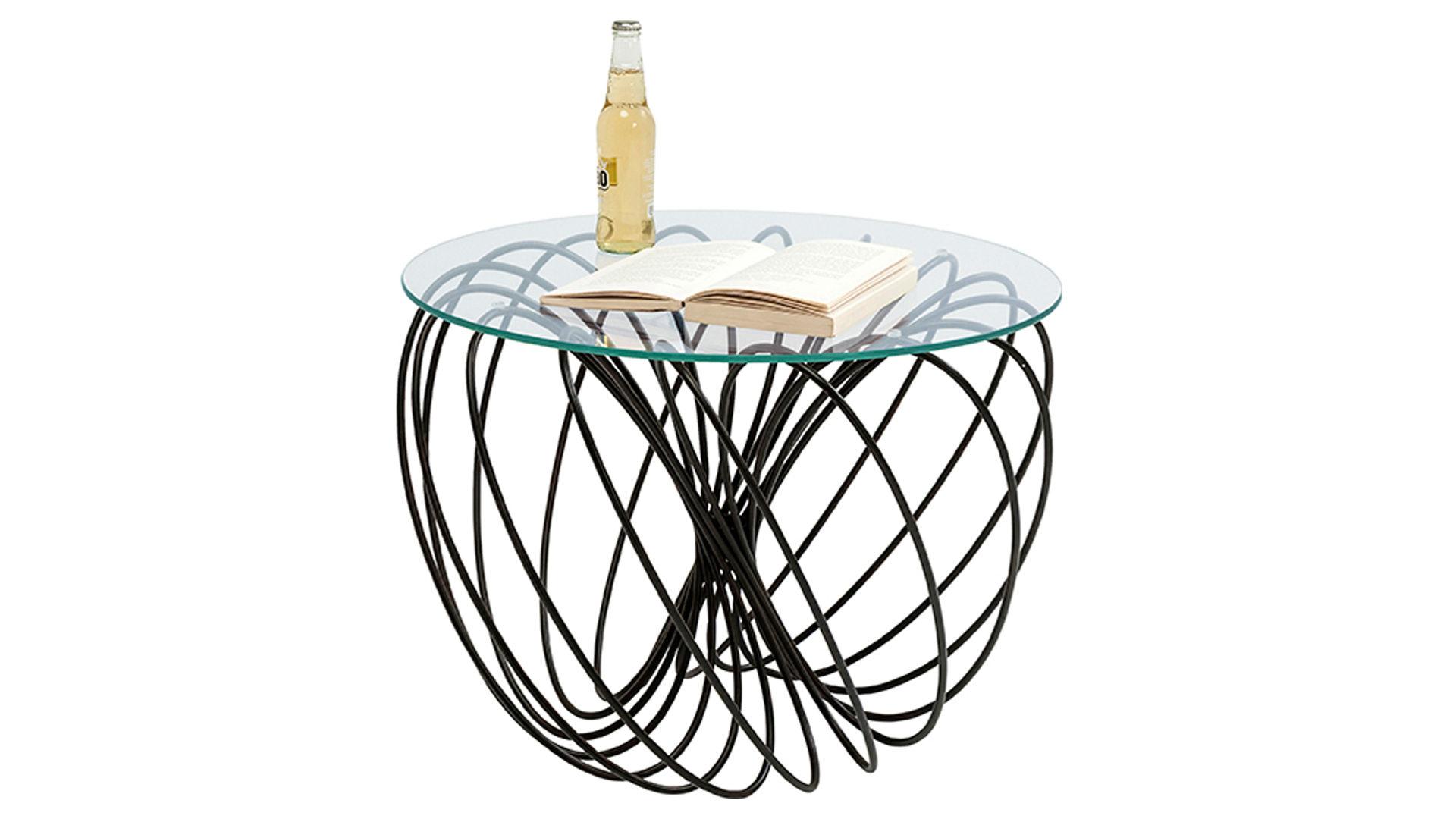 Kare Design Couchtisch Als Wohnzimmermobel Klarglasplatte
