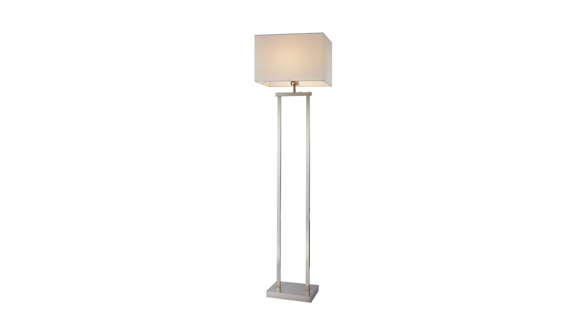 Led Stehleuchte Sydney Bzw Stehlampe Nickel Matt Kunststoff