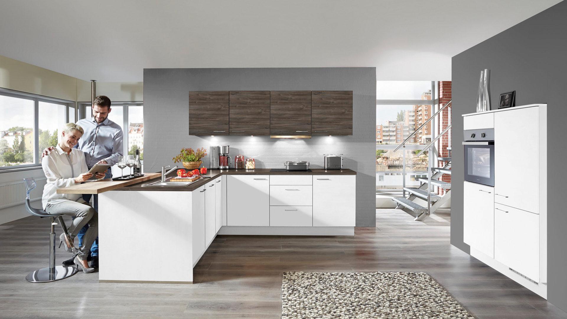 Gorenje Kühlschrank Braun : Einbauküche mit gorenje elektrogeräten wie kühlschrank weiße