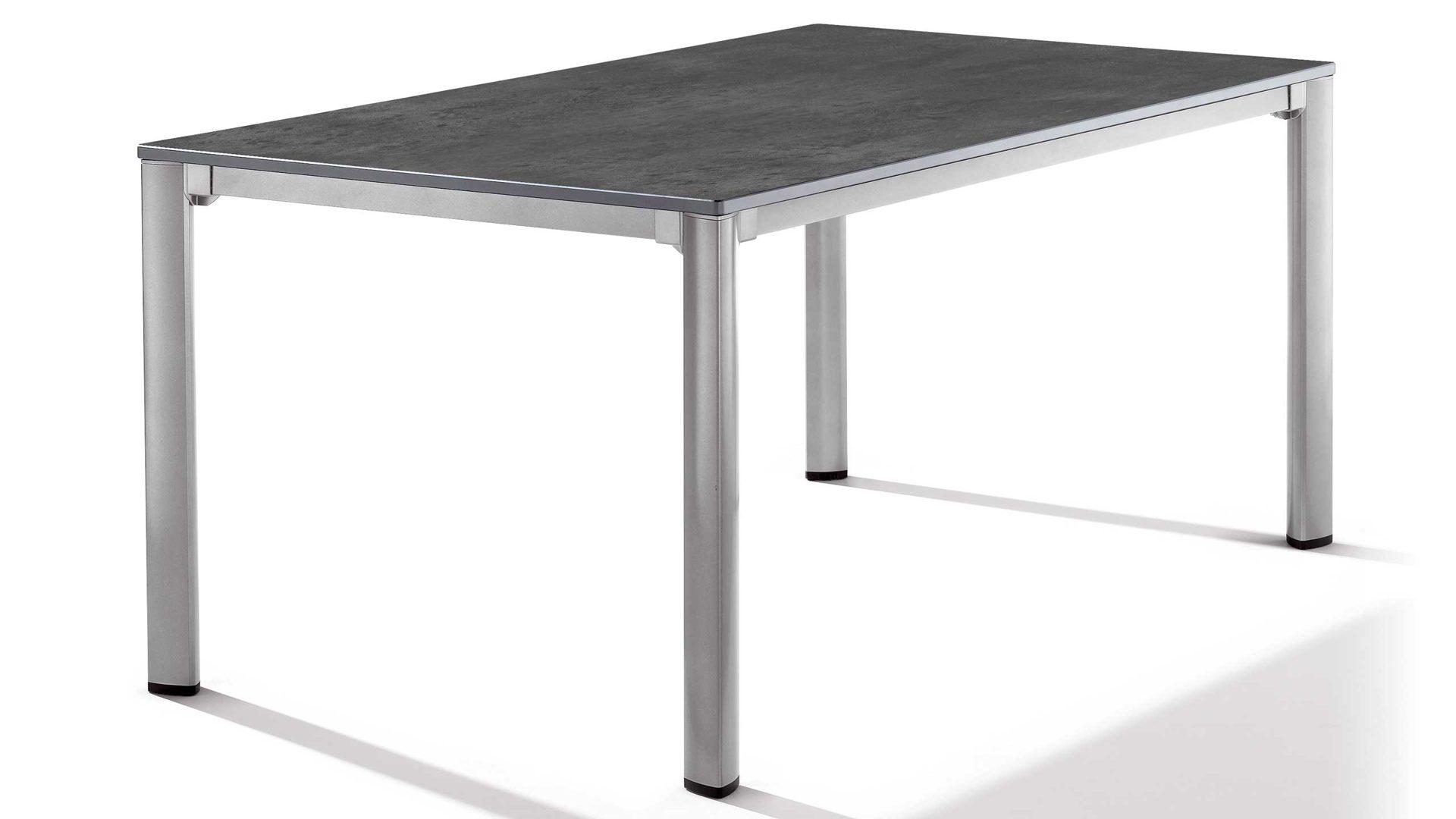 Free Gartentisch Sieger In Grau Sieger Exclusiv Puroplan Loft Tisch  Gartentisch Gestell Aluminium With Gartentisch Grau