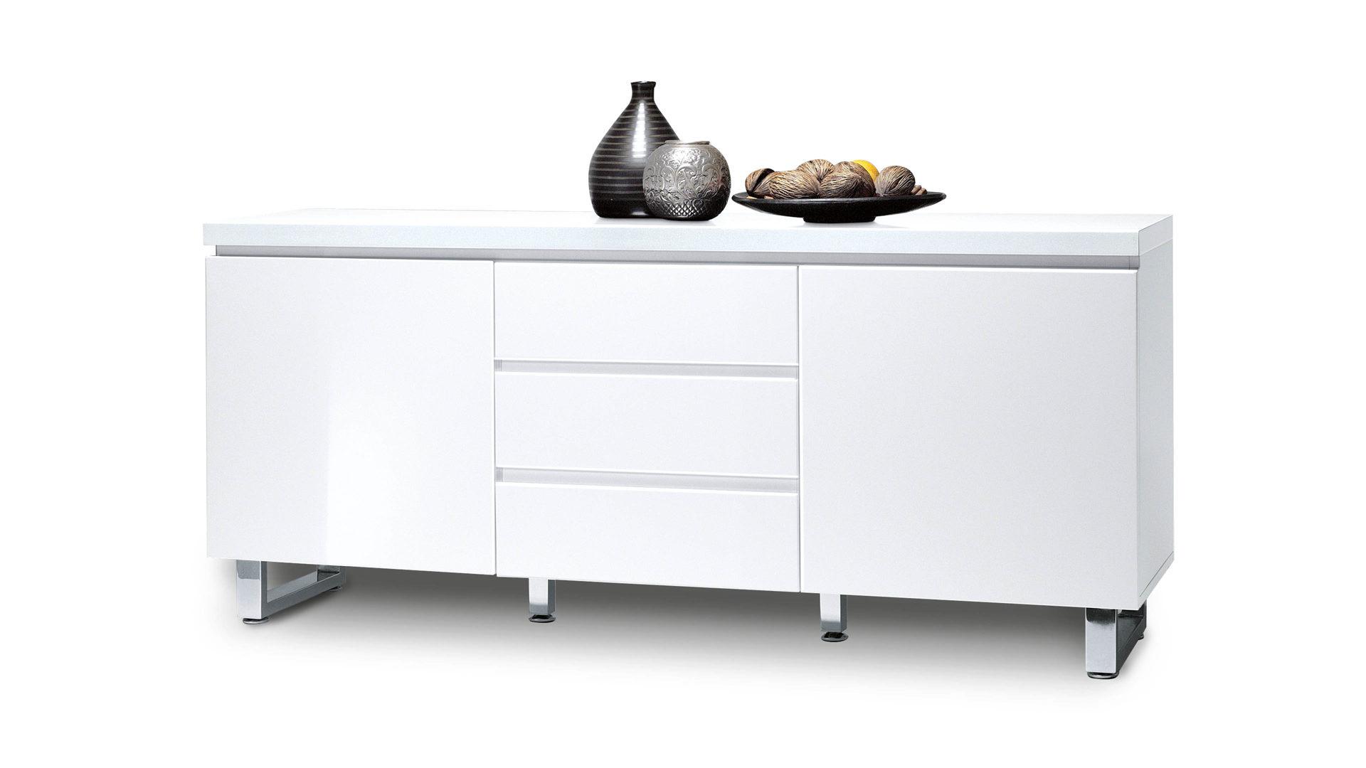 Sideboard Eine Kommode Mit Eleganter Note Weisse Kunststoff