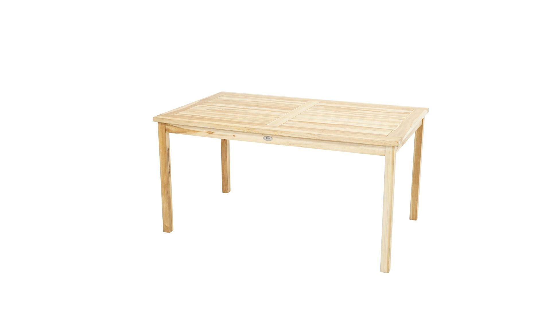 Ploss Tisch Pittsburgh Eco Als Gartenmobel Eco Teakholz Ca 150 X 90 Cm