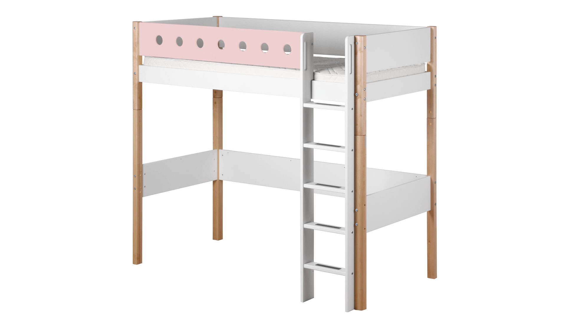Hochbett Holz Weiß 90x200 : Halbhohes bett weiß beste produkte wei fabulous latest