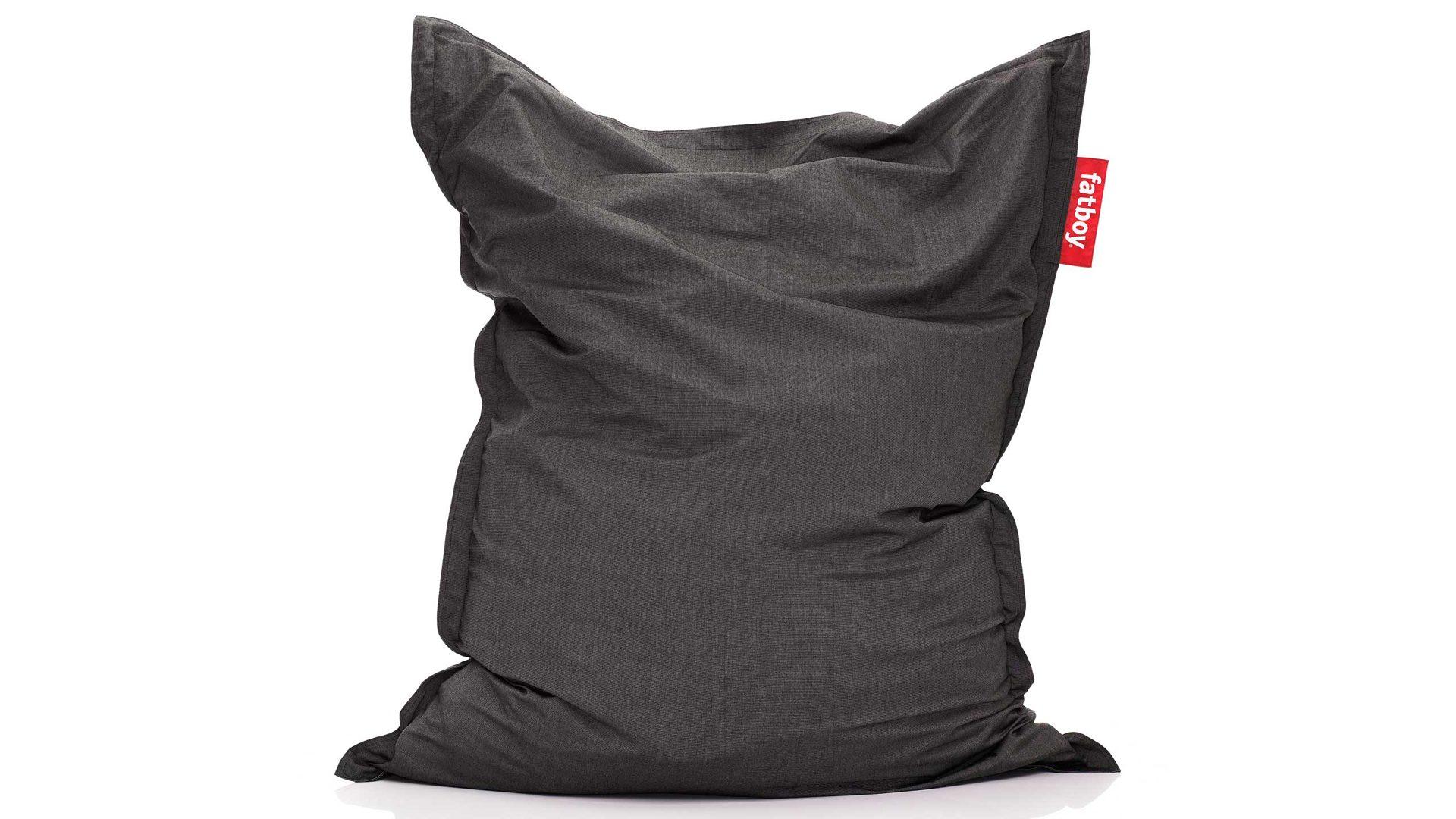 Fatboy Sitzsack Original Outdoor Charcoal Anthrazit 180 X 140 Cm Sitzsack In Anthrazit