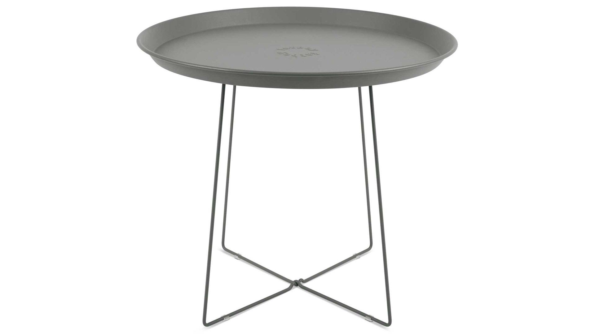 Fatboy Beistelltisch Plat O Grau Tisch Gartentisch Tisch In Grau