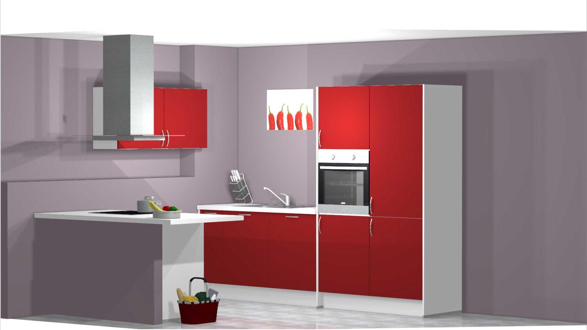 Moderne Offene Pino Küche Zum Kleinen Preis Pino Einbauküche Küche