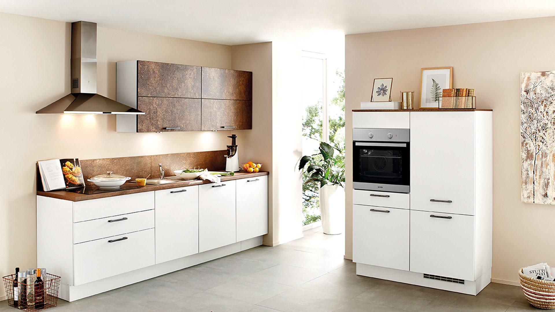 Gorenje Kühlschrank Edelstahl : Einbauküche mit gorenje elektrogeräten wie kühlschrank etc weiße