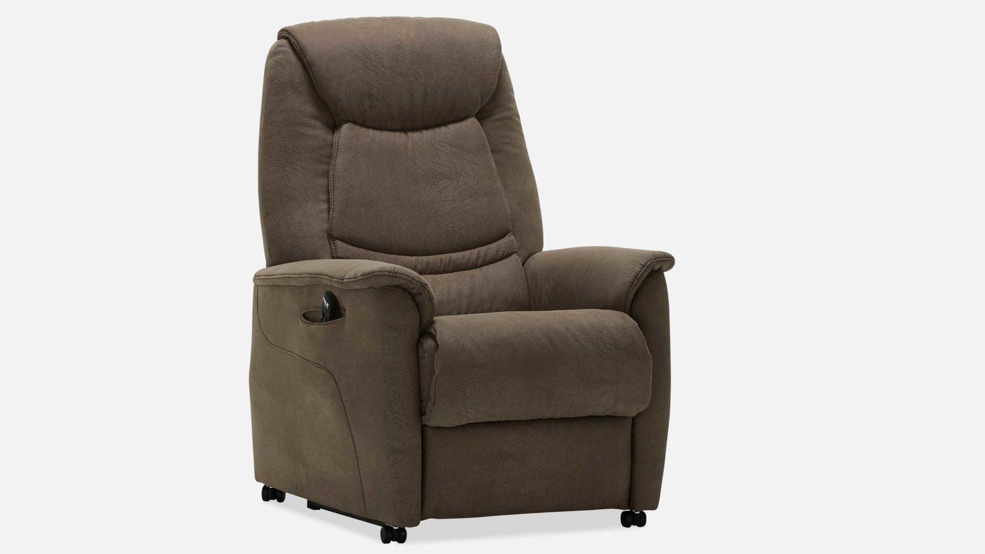 Hukla Relaxsessel Sessel Rv88 A8 Stoffbezug Braun Stoff Leonardo 19 Braun Funktion A8 Ein Motor Aufstehhilfe