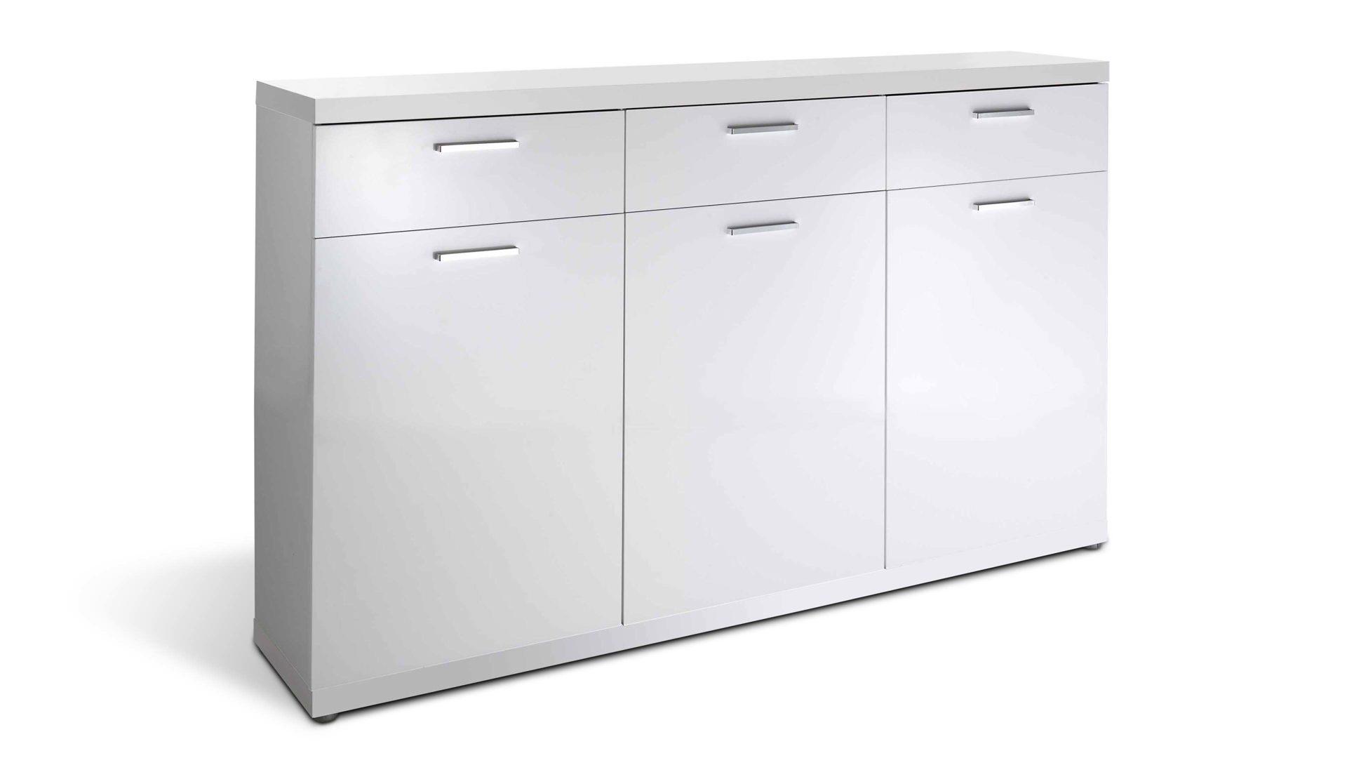 Sideboard Space Eine Kommode Mit Modernem Design Weisse Kunststoff