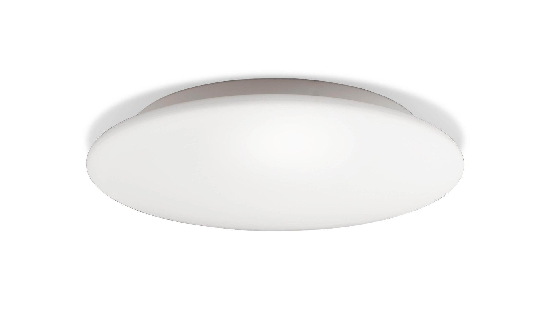 Deckenleuchte blanco matter opalglas lampenschirm durchmesser ca