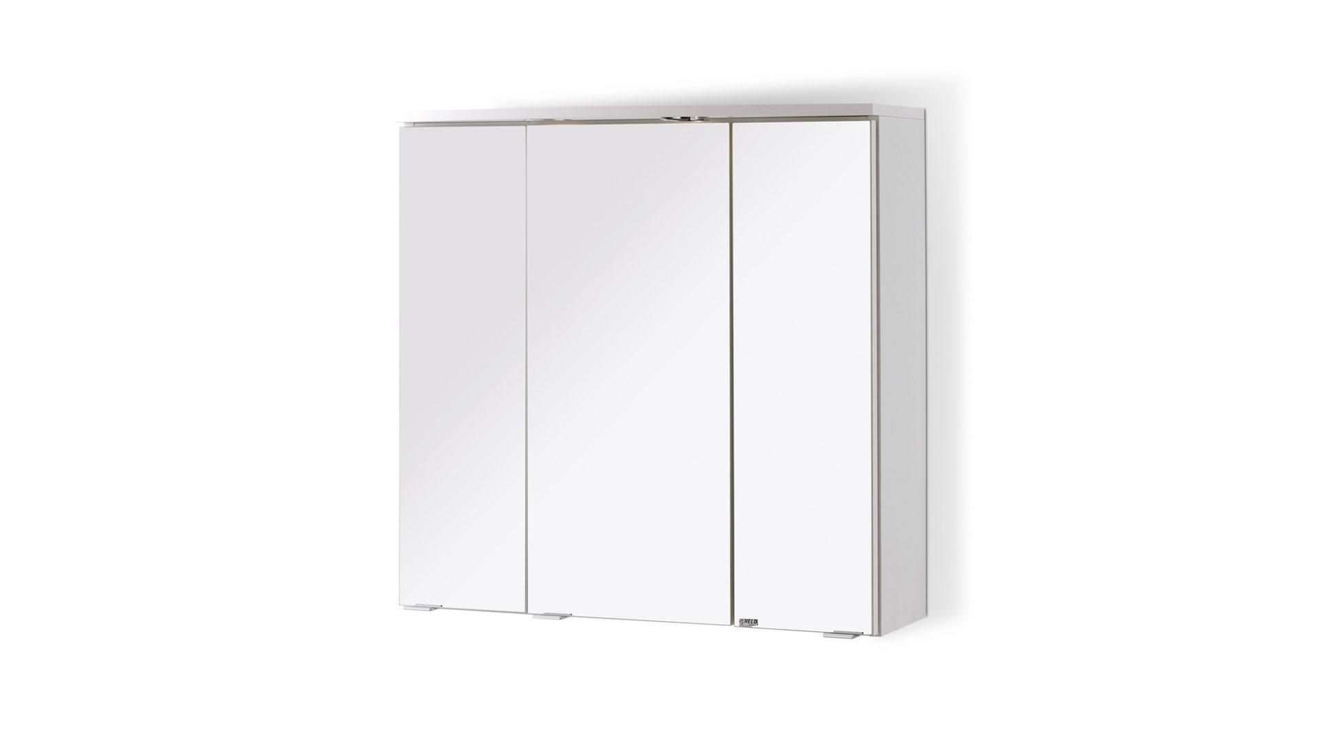 Spiegelschrank Denver, ein Badschrank mit Stil, weiße ...