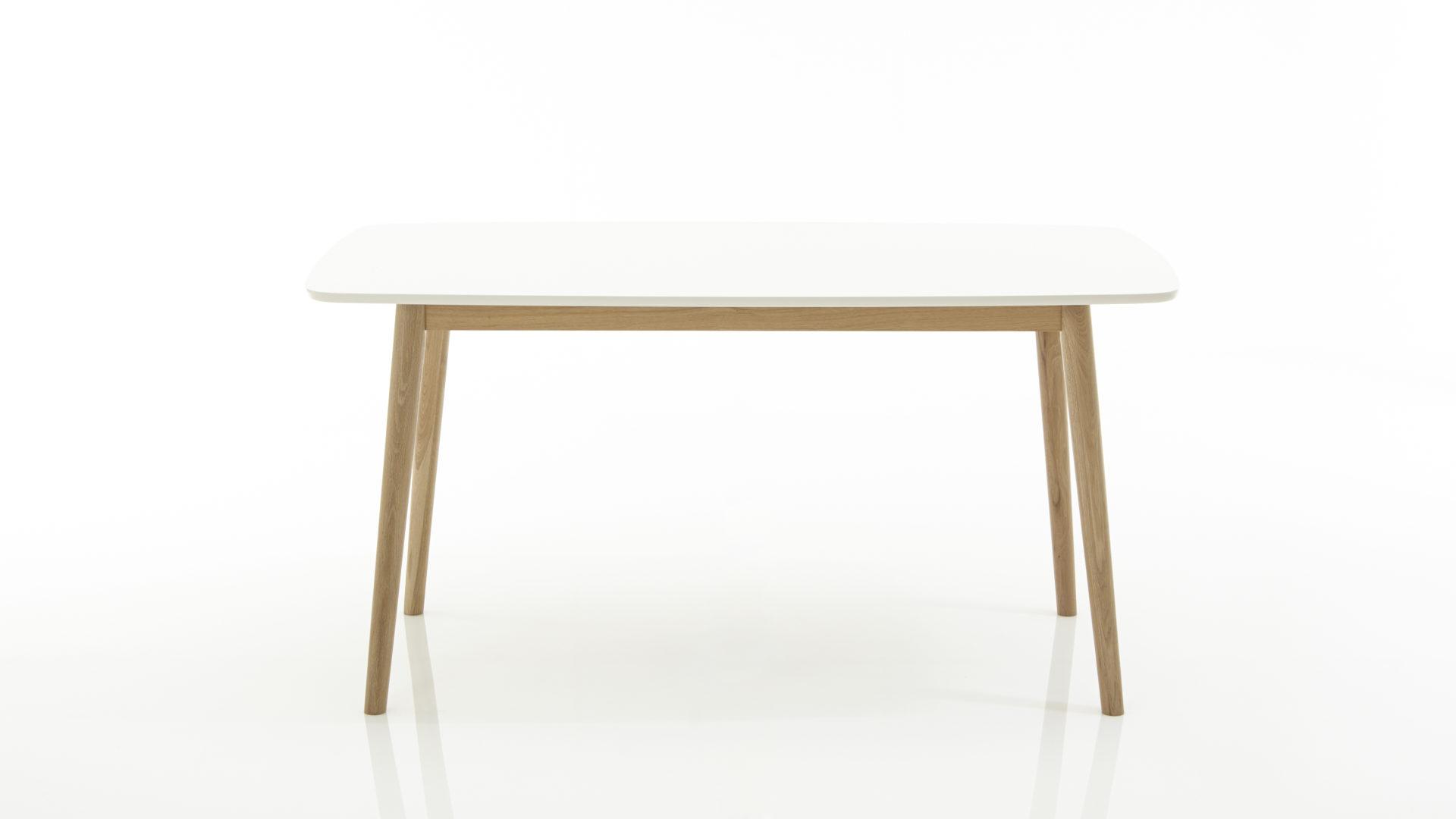 Esstisch Actona Aus Holz In Weiß Esstisch Für Küche, Esszimmer Oder  Wohnzimmer Weiß Lackierte MDF