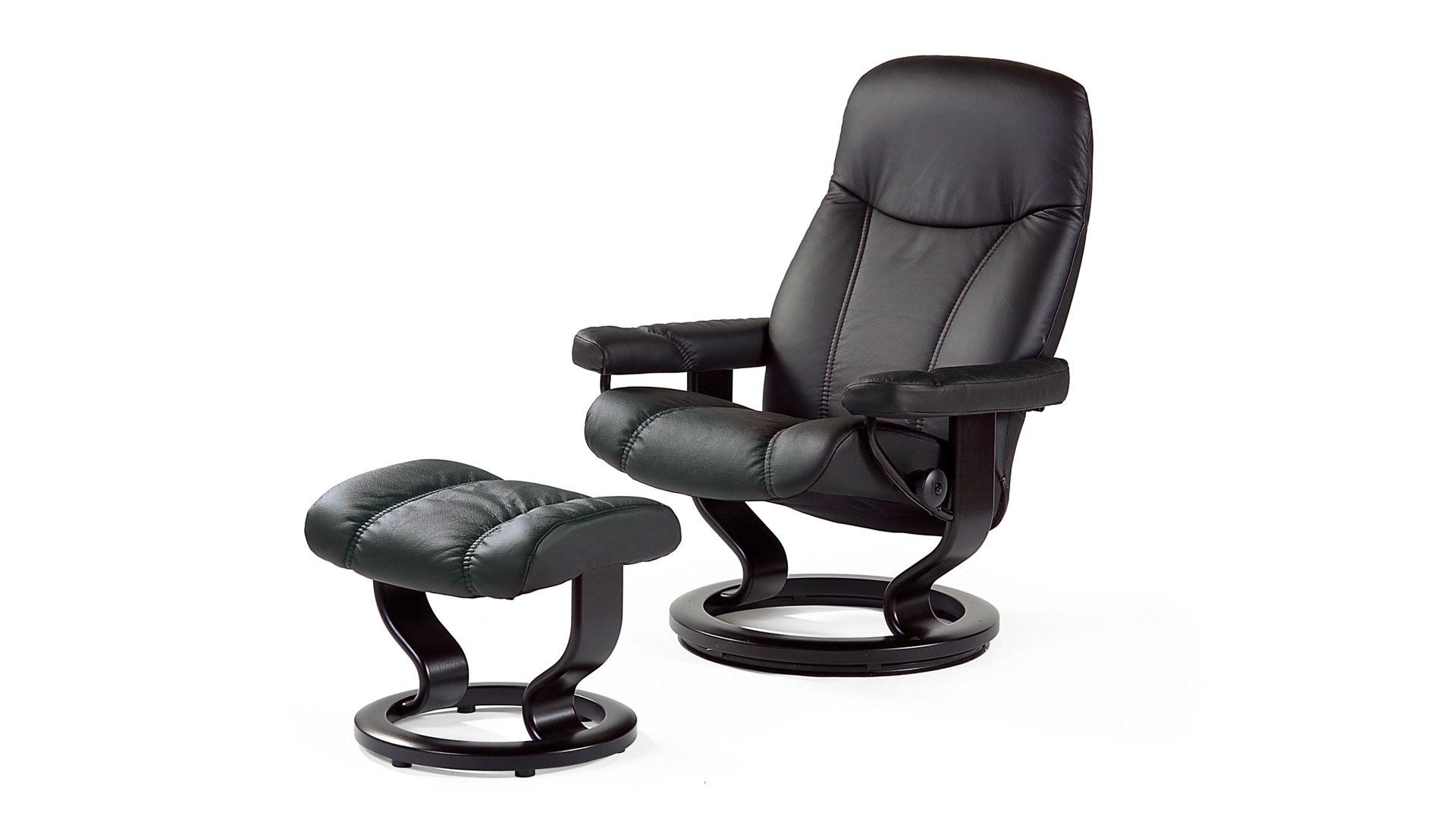 Stressless Consul M Relax Sessel Und Hocker Leder Medium Leder