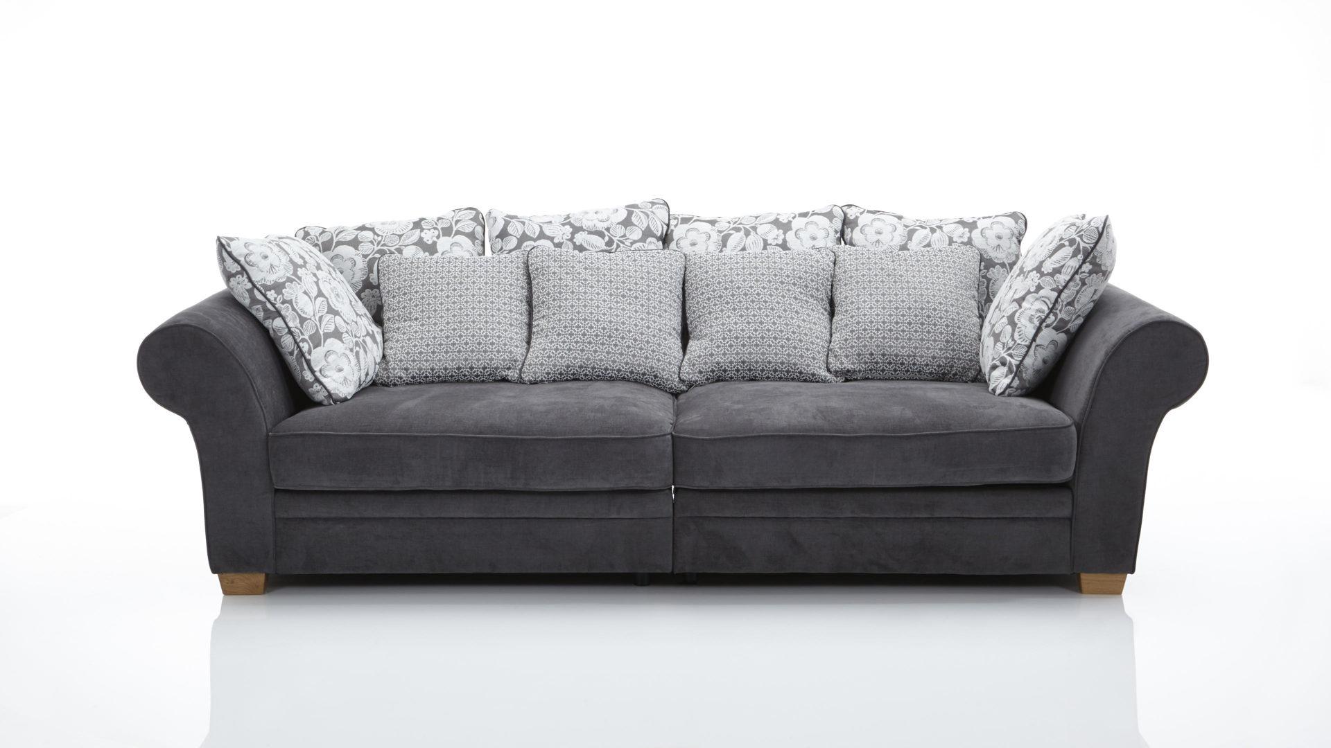 Big Sofa Federkern ~ Megasofa im landhausstil ein bigsofa mit federkern dunkelgrauer