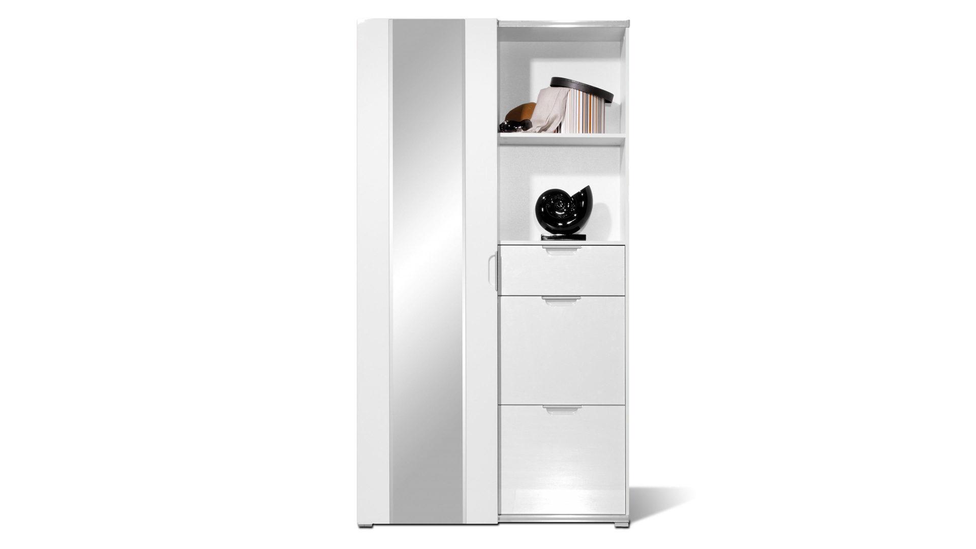 Garderobenschrank Mit Schiebetur Als Modernes Dielenmobel Weisse