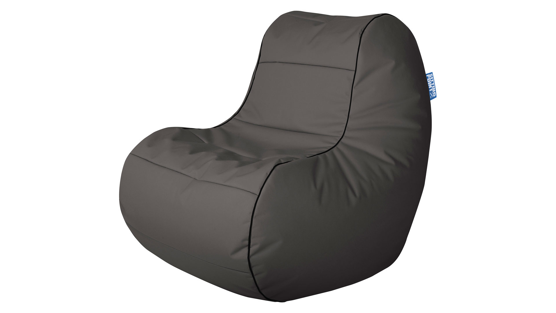 Sitzsack Sessel Magma Sitting Point Aus Stoff In Grau SITTING POINT  Sitzsack Sessel Scuba