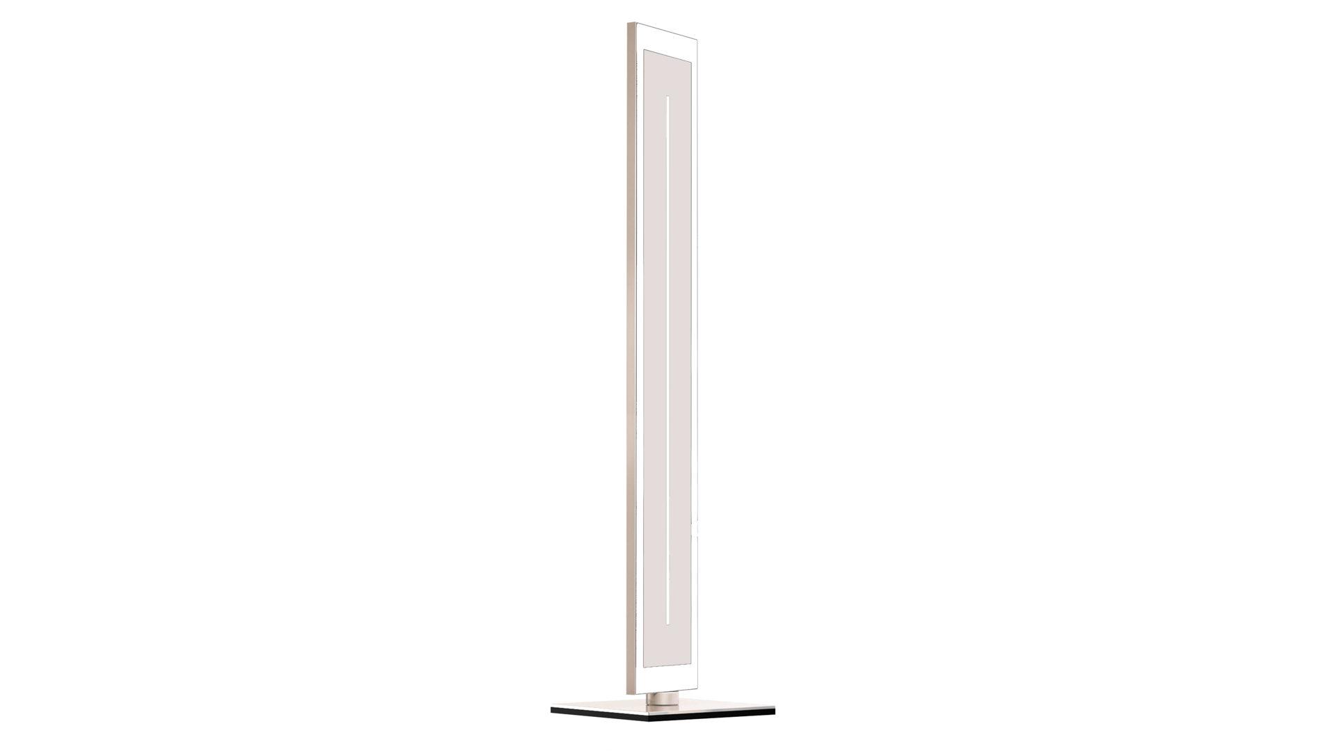 EVOTEC LED Stehleuchte, Aluminium U0026 Nickel Gebürstet, Weißes Glas   Ca.  113, Bad Homburg Bei Frankfurt