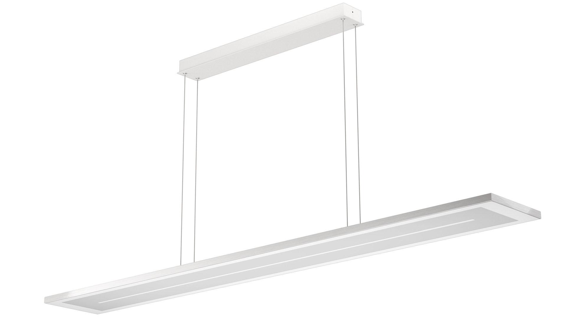 Perfekt EVOTEC LED Pendelleuchte, Aluminium U0026 Nickel Gebürstet, Weißes Glas    Länge, Bad Homburg Bei Frankfurt