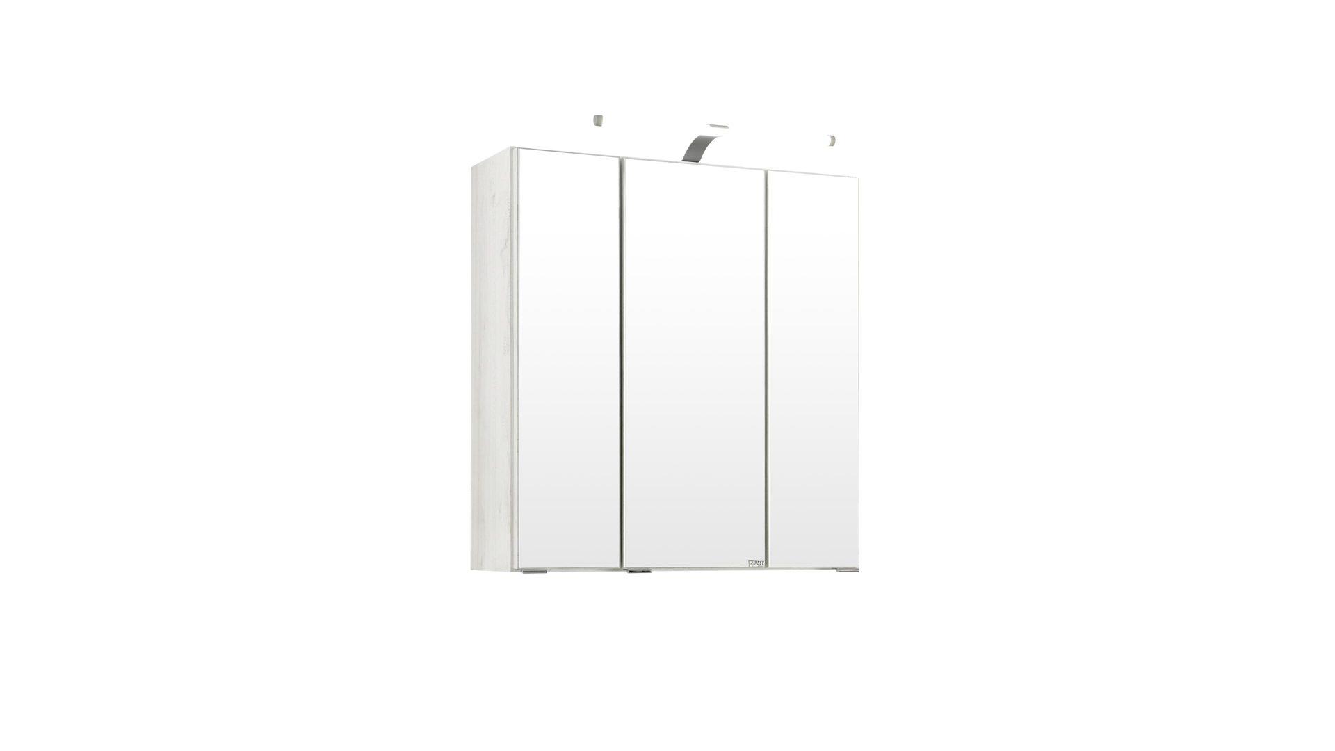 Spiegelschrank Cardiff Weisse Melaminoberflachen Breite Ca 80 Cm