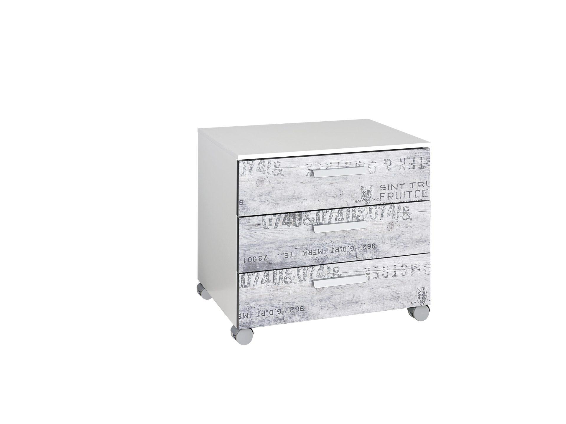 Rauch SELECT Rollcontainer bzw. Büromöbel, graue Vintageoptik ...