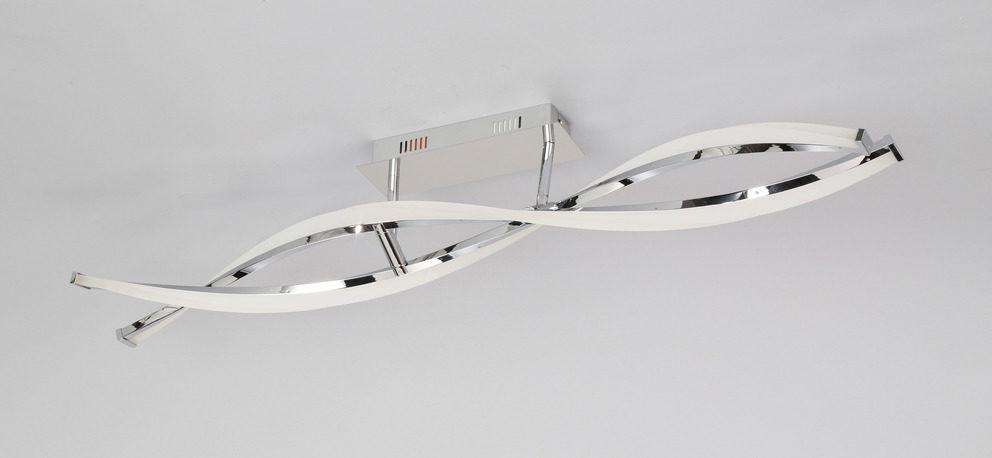 Led Deckenleuchte Idana Bzw Led Deckenlampe Chrom Lange Ca 101