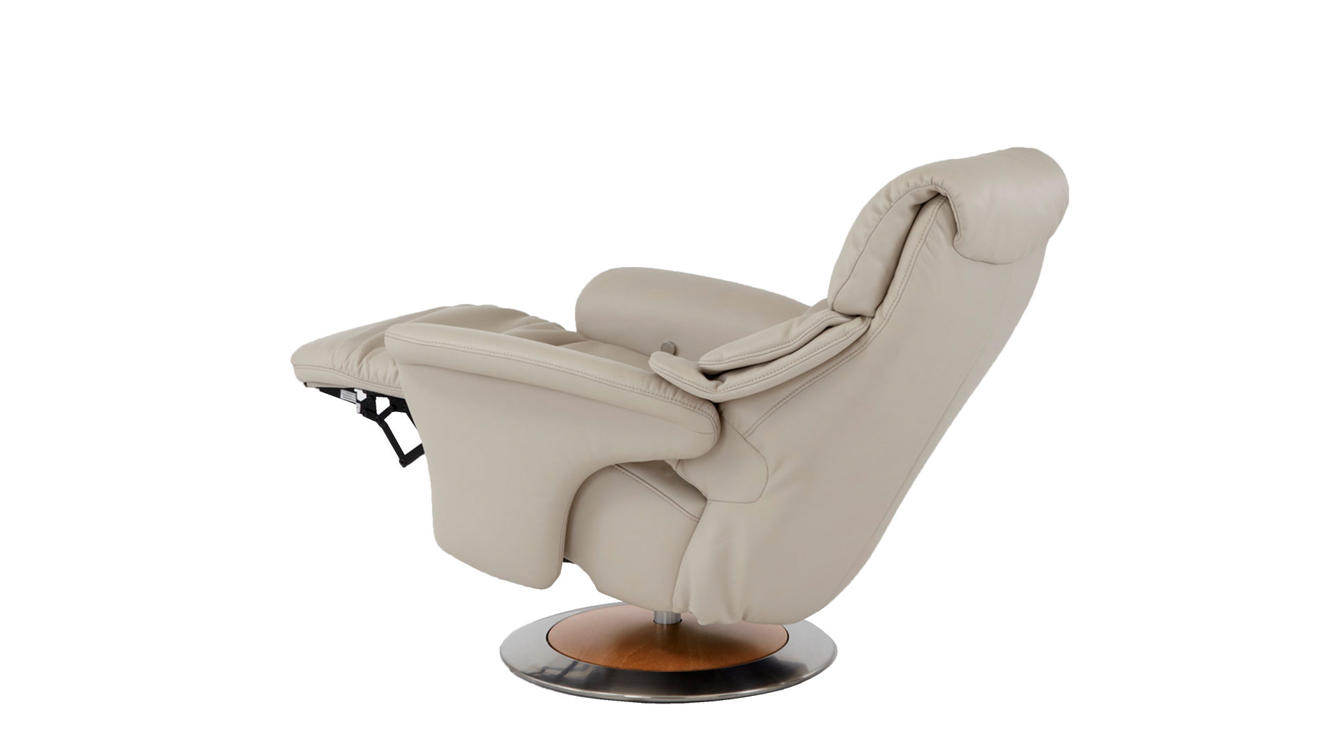 Relaxsessel Beige Leder. Top Relaxsessel Leder Loumea Beige With ...