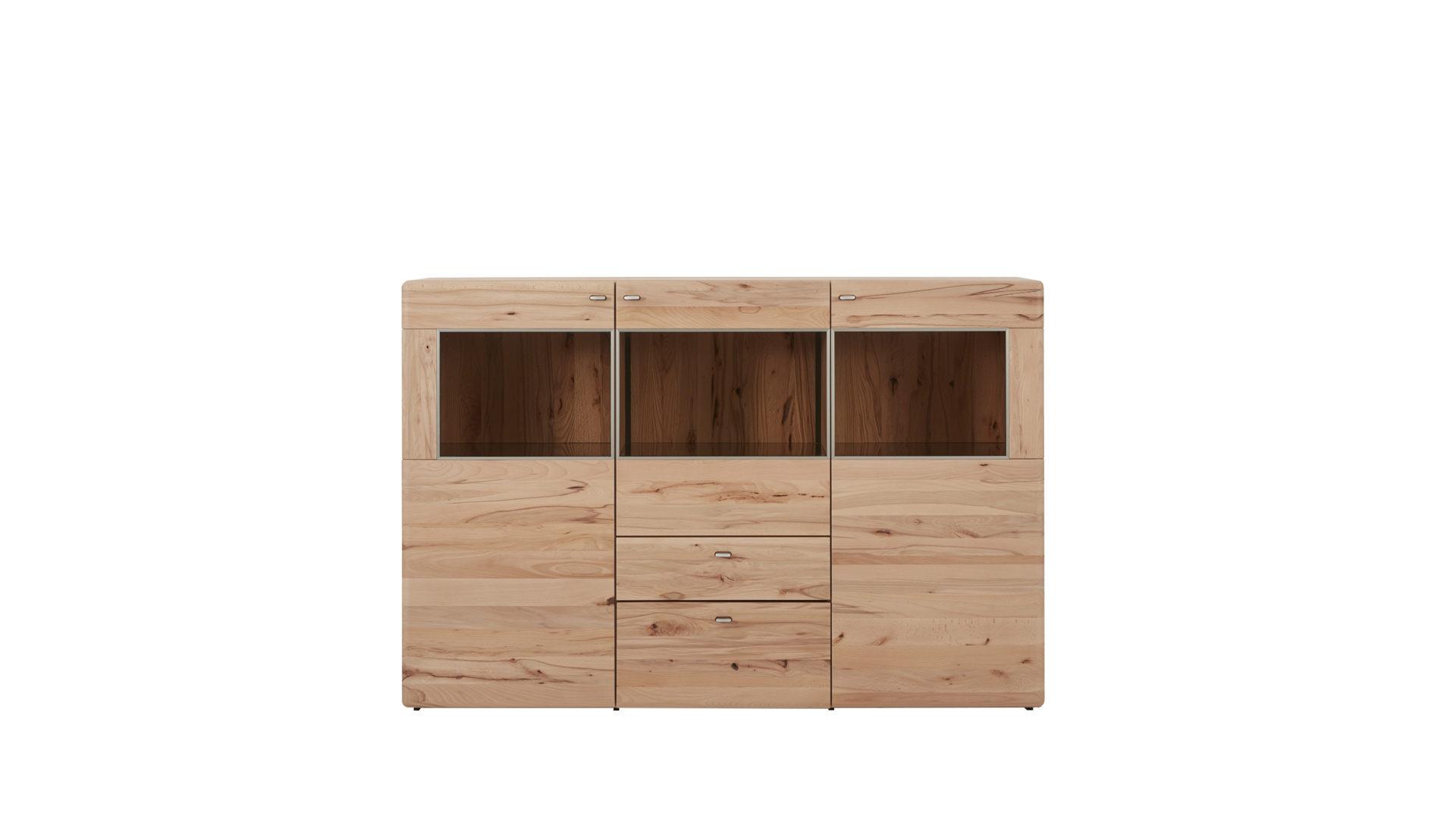 Kernbuche Wohnzimmer, interliving wohnzimmer serie 2002 – highboard, gebürstete kernbuche, Design ideen