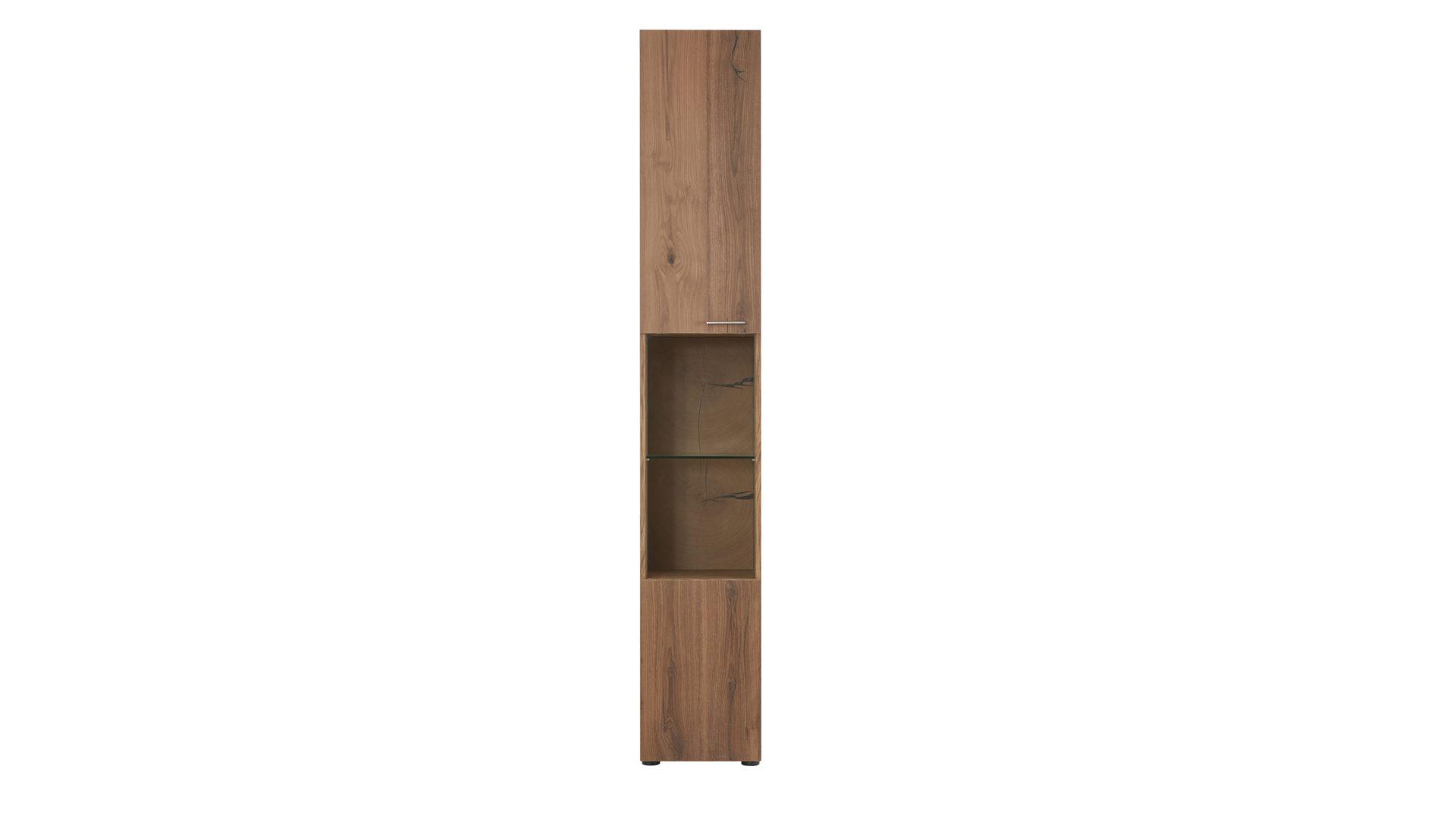 Wohnwand Die Hausmarke | Il Aus Holz In Holzfarben Interliving Wohnzimmer  Serie 2102 U2013 Wohnkombination Dunkles
