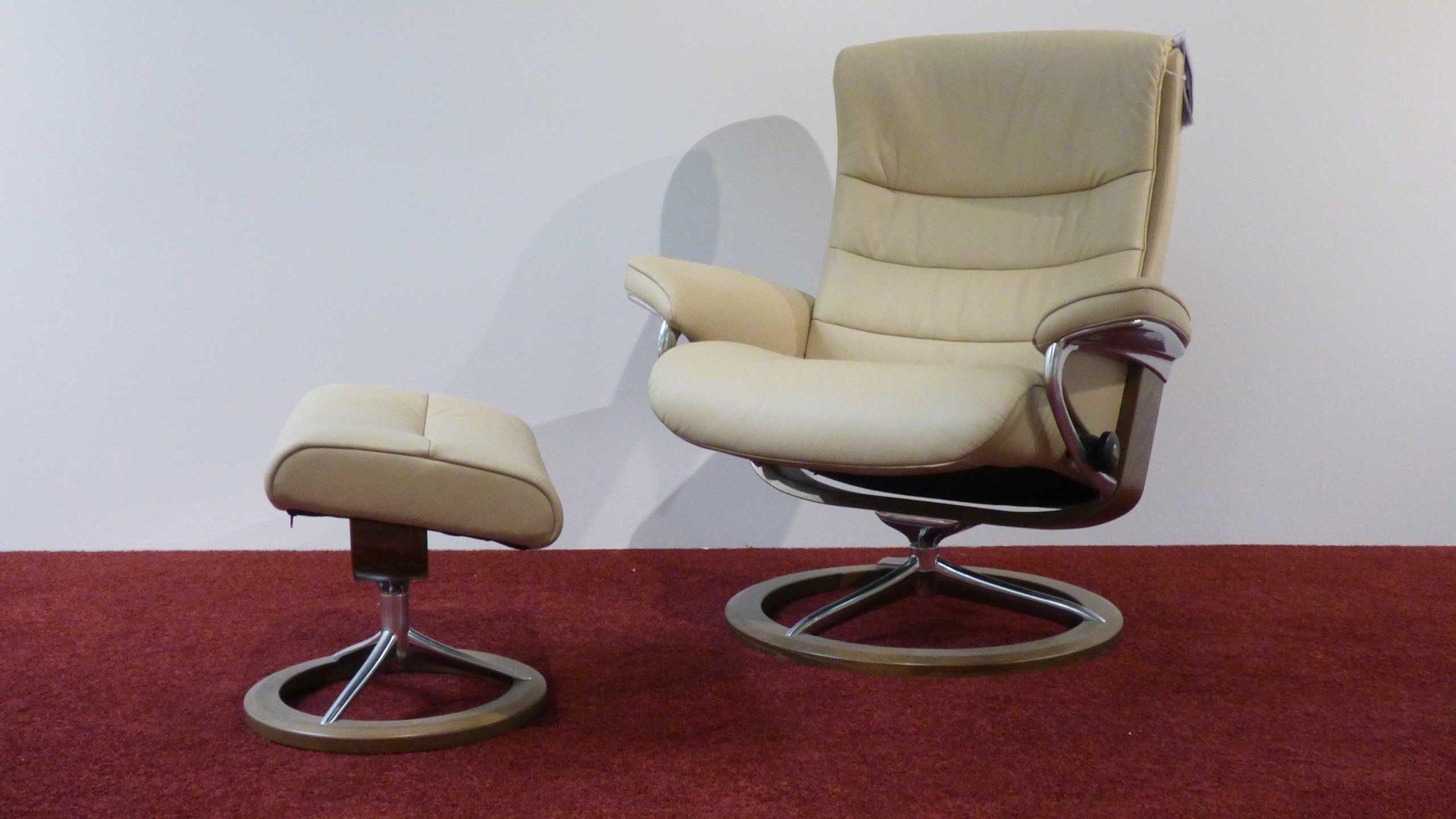 Stressless Relaxsessel NORDIC Gr. L Leder + Hocker, 1282 315 Leder ...