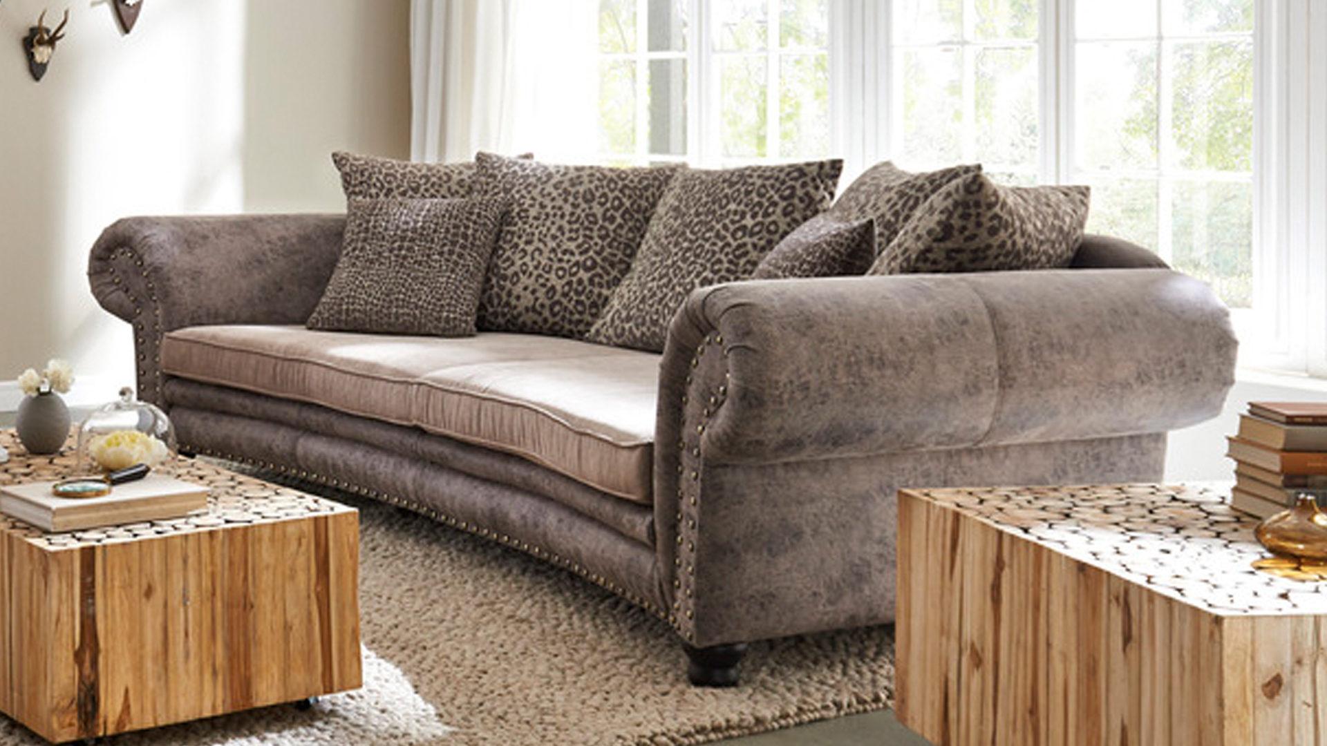 Big Sofa Federkern ~ Big sofa microfaser great home affaire bigsofa greenwich beige