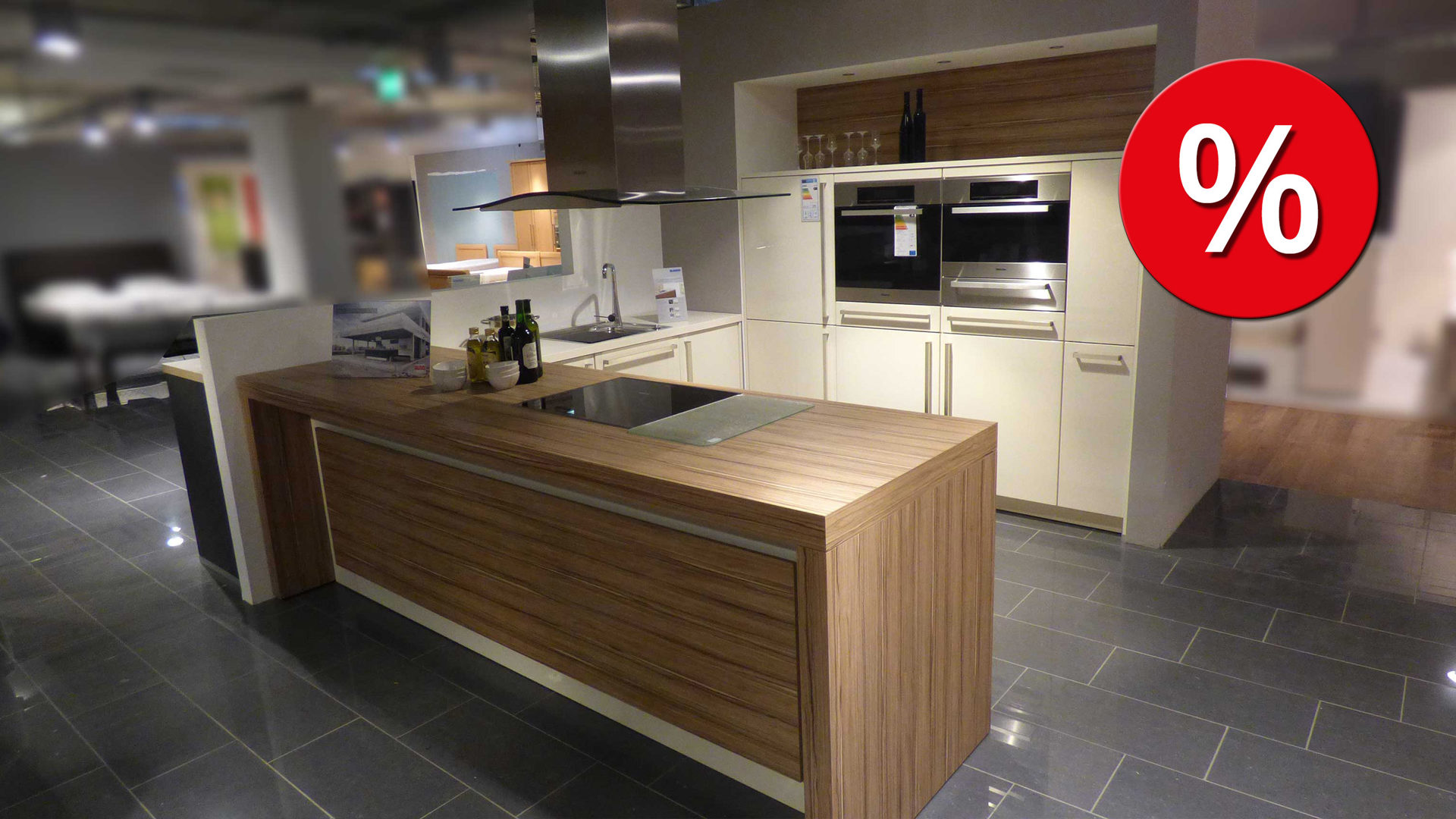 ALNO Küche Einbauküche ALNOSIGN inkl. Miele E-Geräte und ...