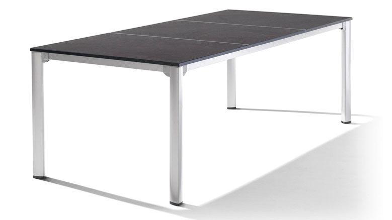 Finest Gartentisch Sieger In Grau Anthrazit Sieger Exclusiv Puroplan Loft Tisch  Gartentisch Gestell Aluminium With Gartentisch Grau