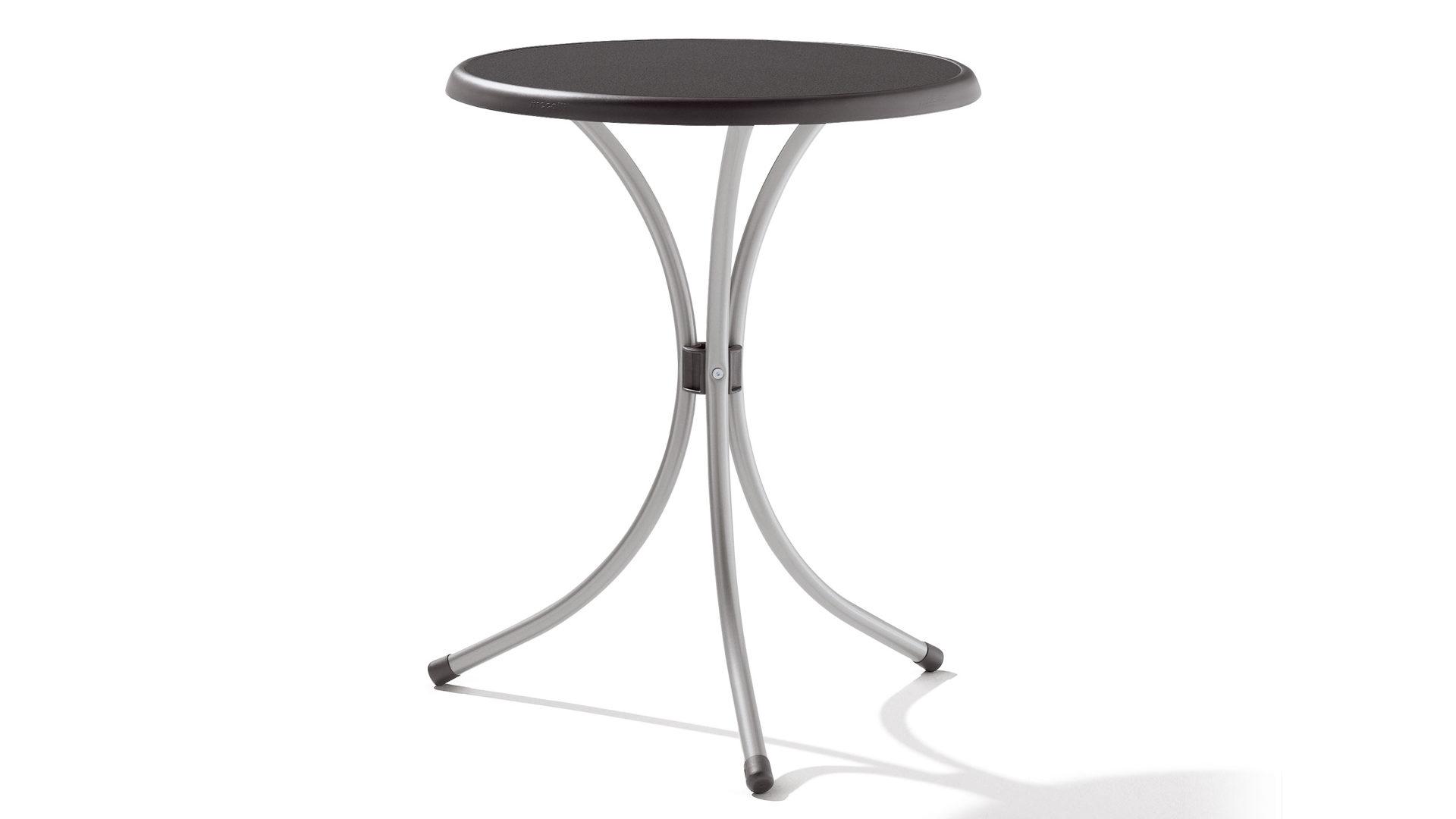 Sieger Gartentisch Tisch Rund 200 A Mecalit D 60 Cm Gestell