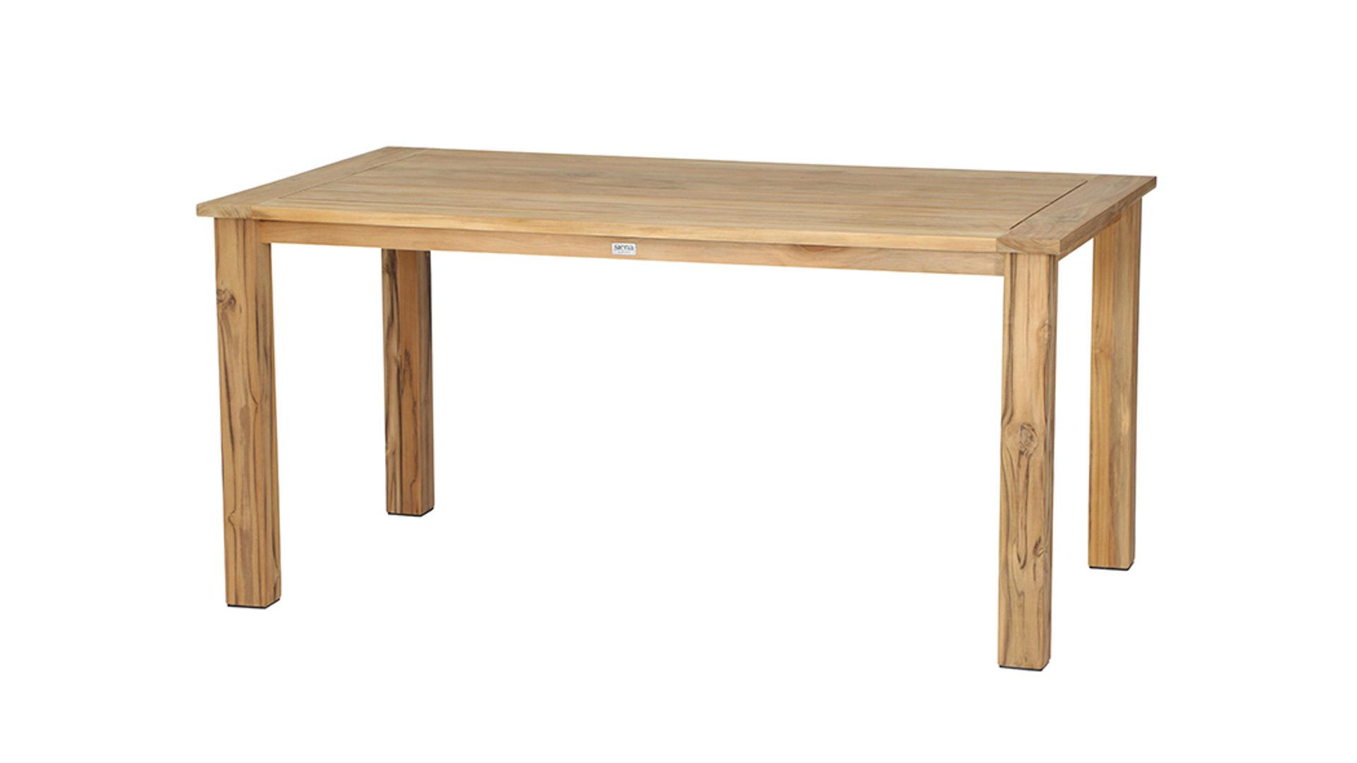 siena GARDEN Dining-Tisch Almada, Teakholz – ca. 160 x 90 cm, Bad ...