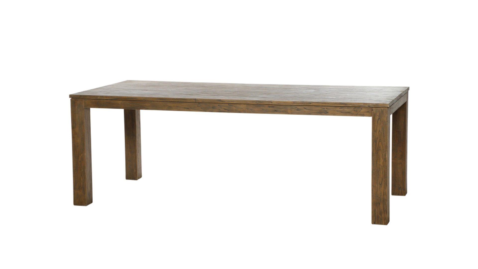 siena GARDEN Dining-Tisch Mateo, recyceltes Teakholz – ca. 220 x 100 ...