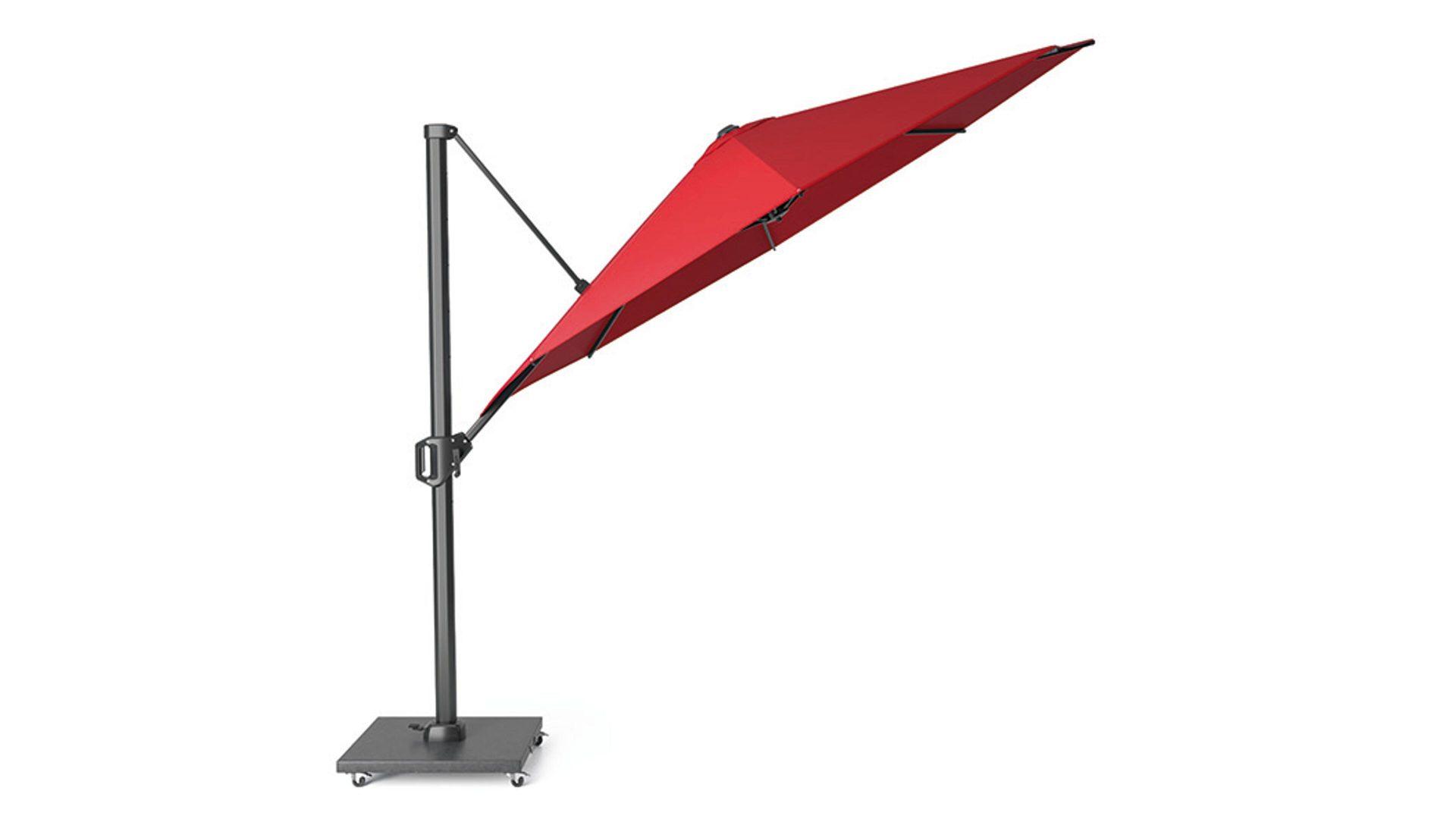 Siena Garden Ampelschirm Sunset Roter Bezug Durchmesser Ca 350