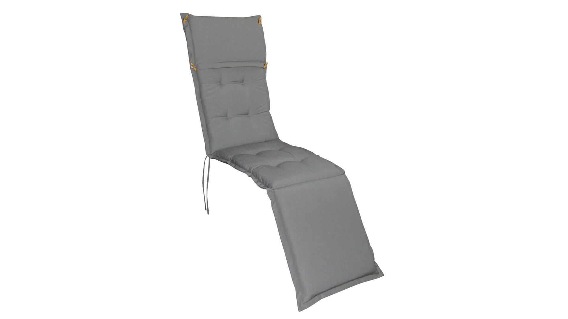 Ploß Premium Deckchair-Polsterauflage Sydney, hellgrauer Bezug – ca ...