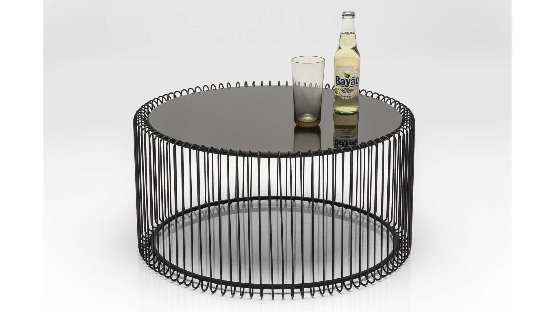 elegant kare design wire als with couchtisch set