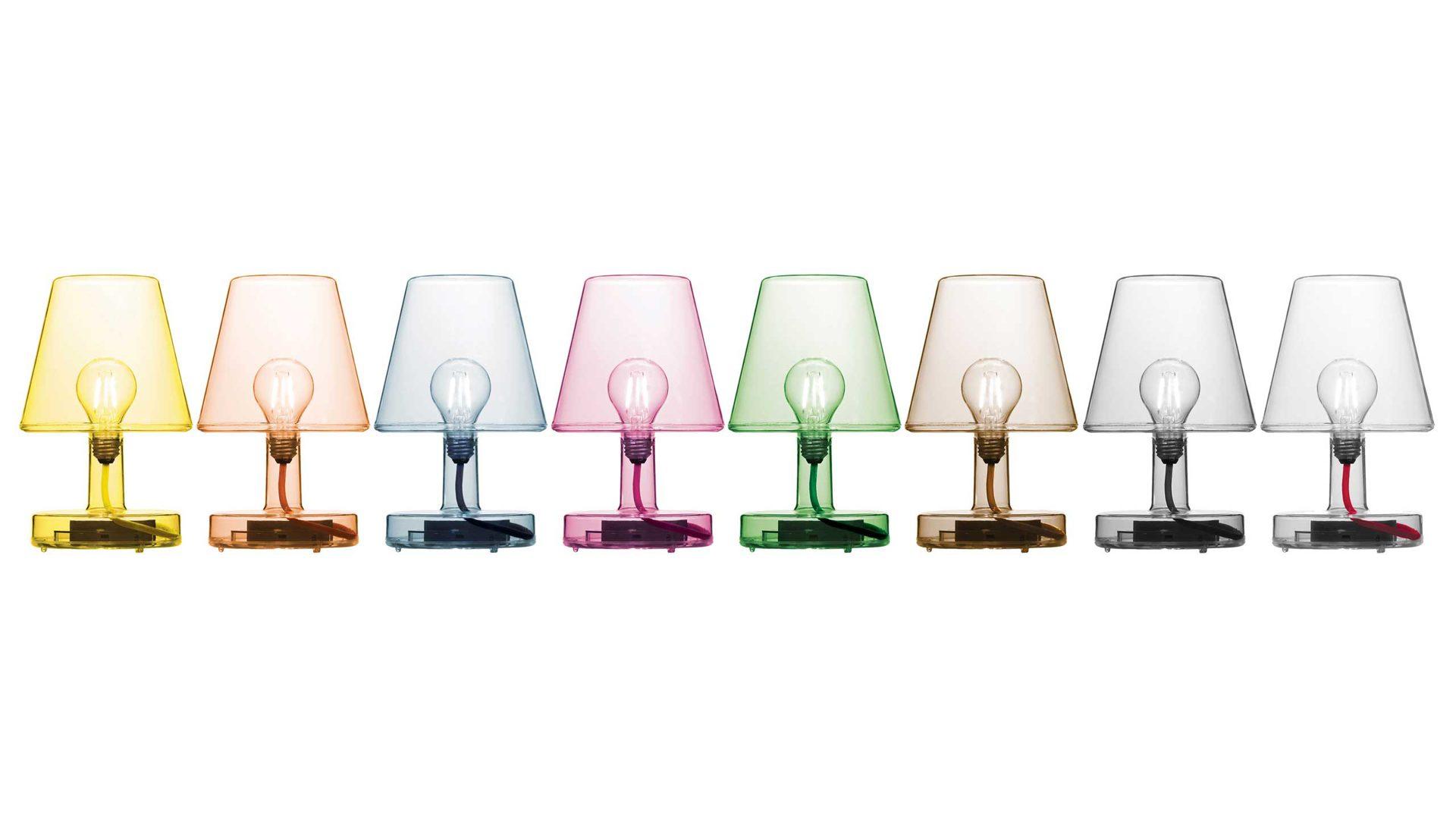 FATBOY TRANSLOETJE Tischleuchte LED-Leuchte mit Akku, gelb, gelbe ...