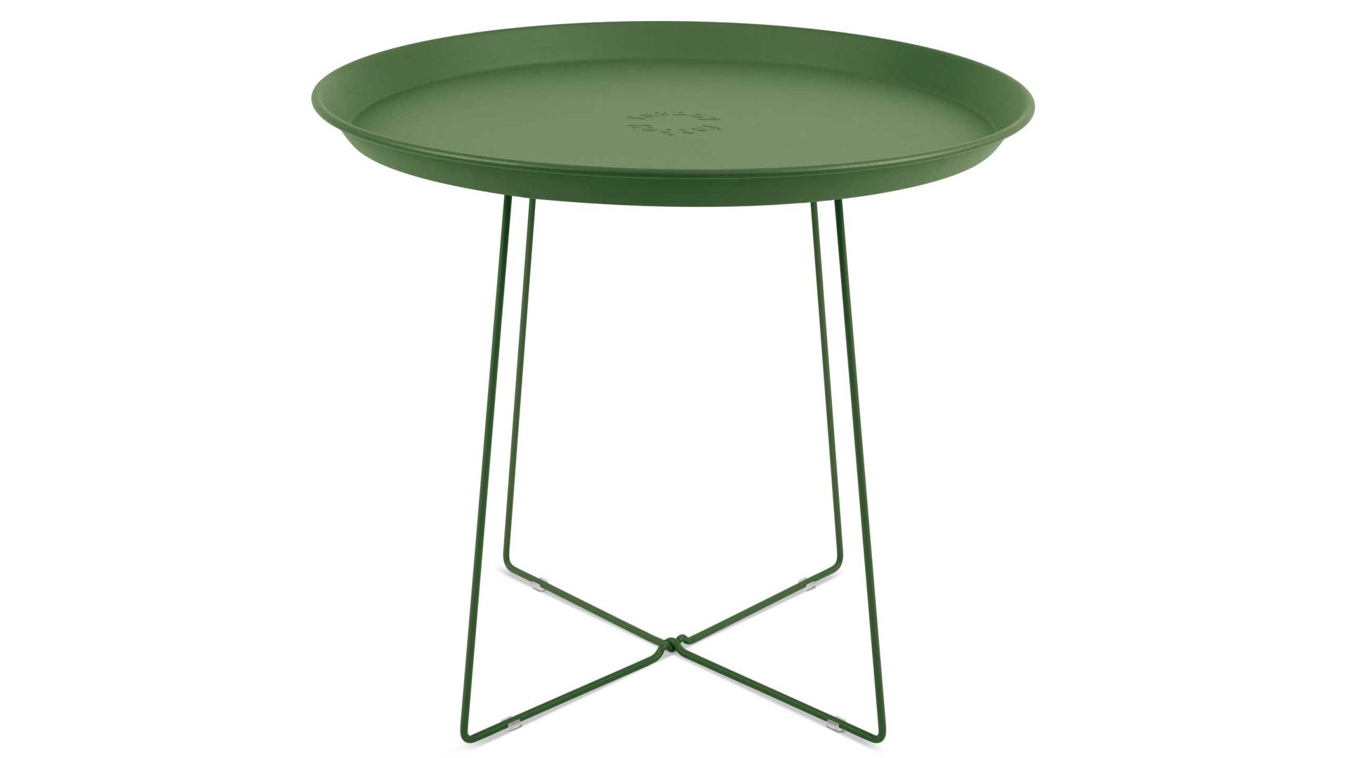 Fatboy Beistelltisch Plat O Industrial Green Tisch Gartentisch Grun