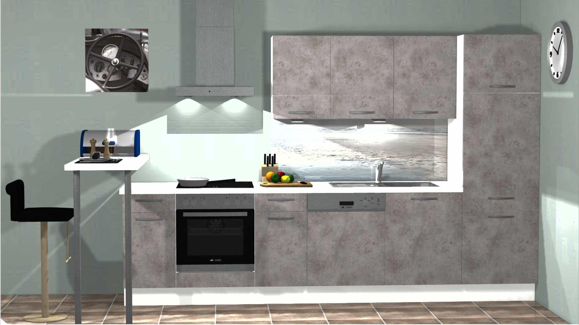 Qualitativ Hochwertige Nobilia Einstiegs Küche Zb Für Vermieter Junge Leute Etc Keramikgraue Nobilia Einbauküche Speed I