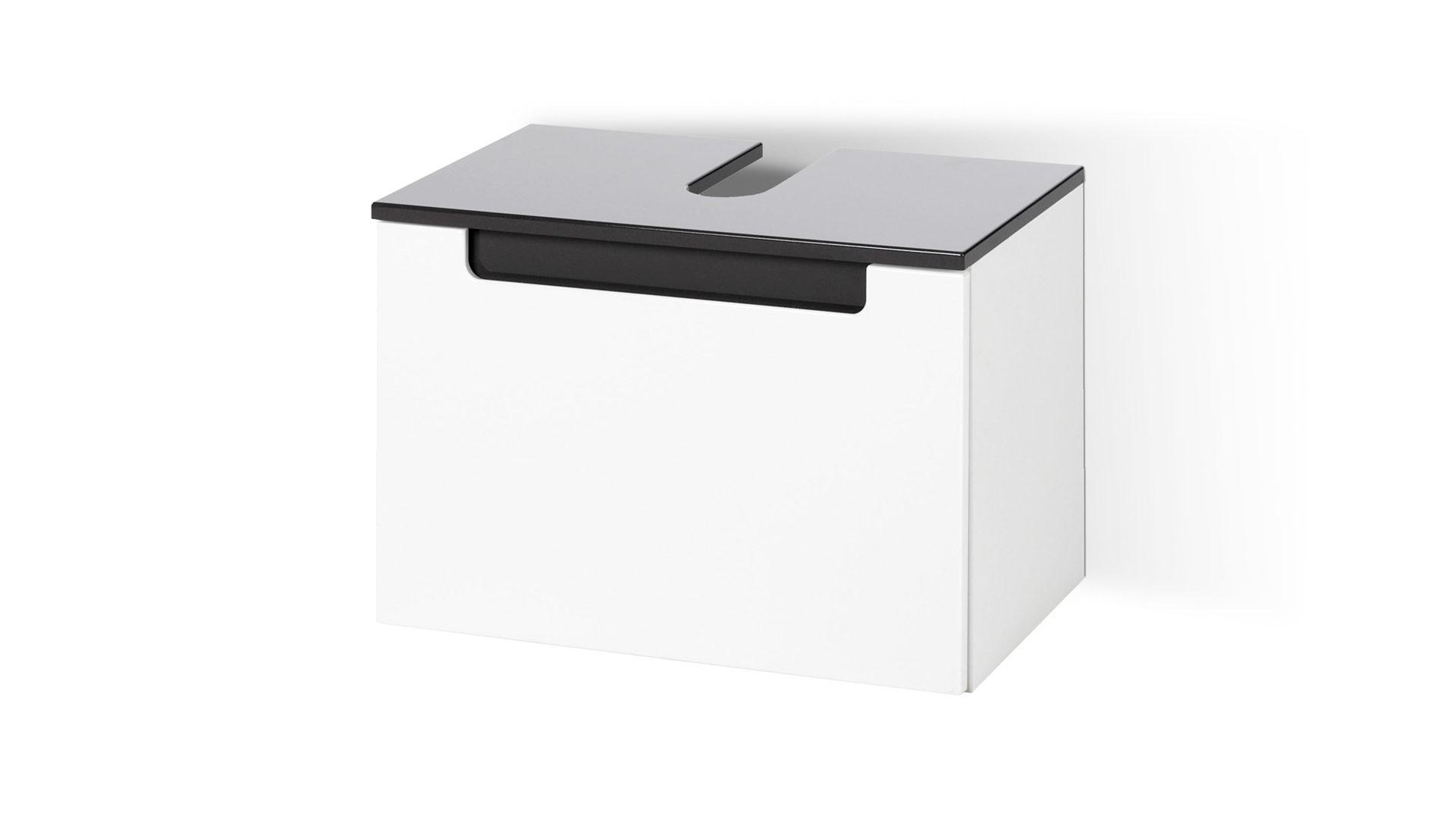 Waschbeckenunterschrank Siena Als Badezimmermöbel Weiße Graue