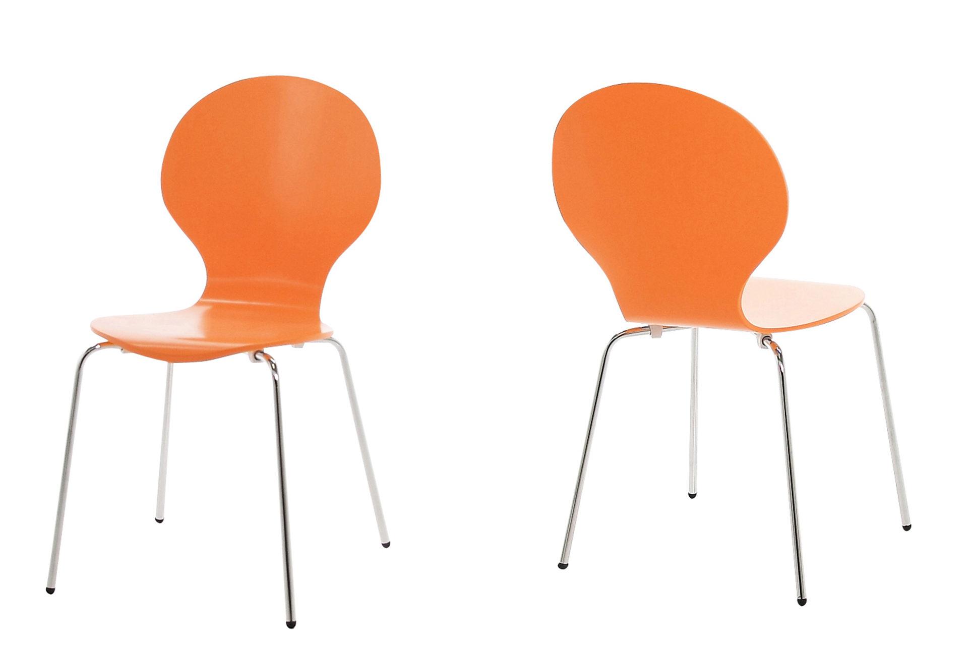 Stapelstuhl als einzelnes Sitzmöbel oder für Sitzgruppen ...