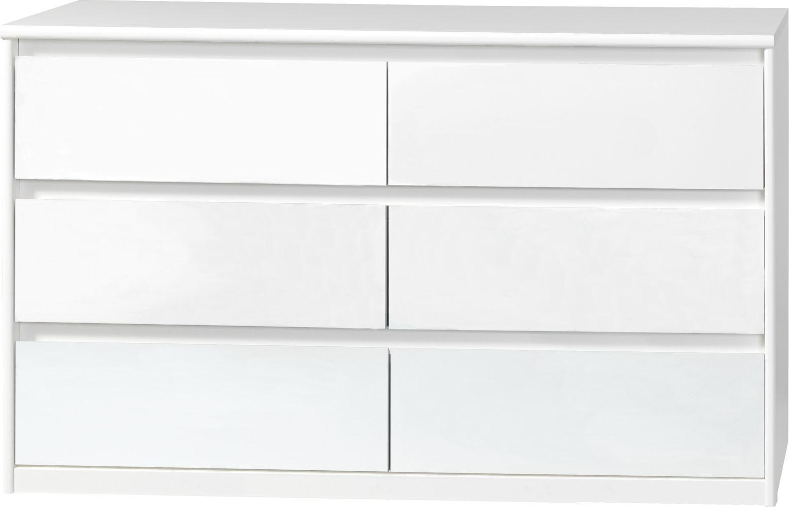 weiße kommoden hochglanz: kommode schlafzimmer kommode weiß 3