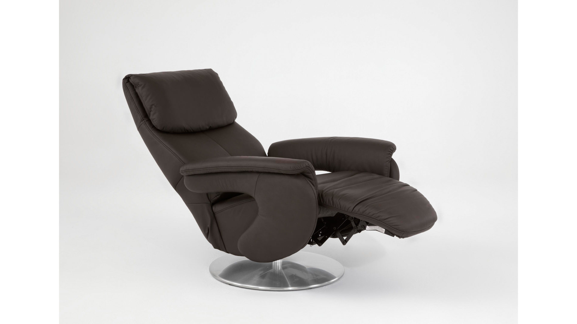 Comfortmaster Easy Swing Sessel 7344 Schokofarbenes Longlife Leder