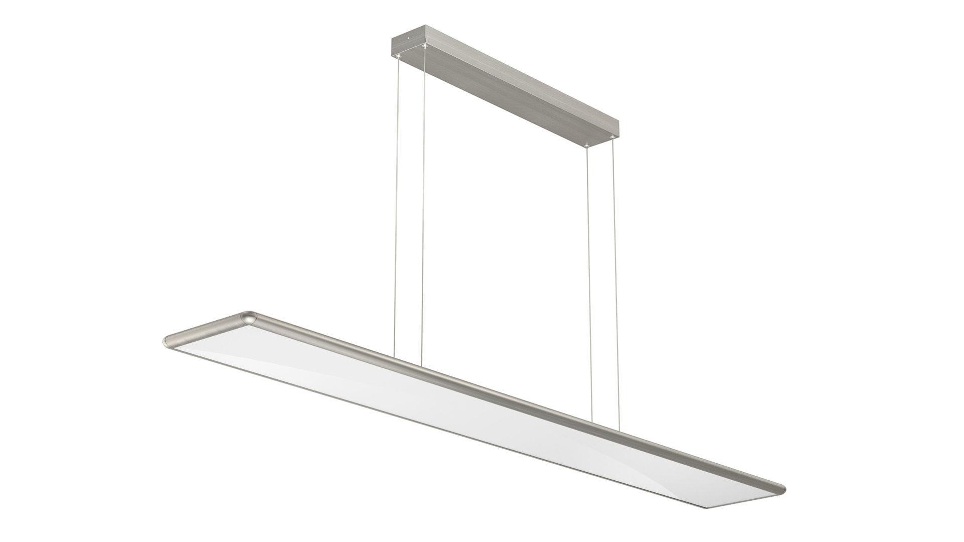 EVOTEC LED Pendelleuchte, Aluminium U0026 Nickel Gebürstet, Opalfarbenes Glas   , Bad Homburg Bei Frankfurt