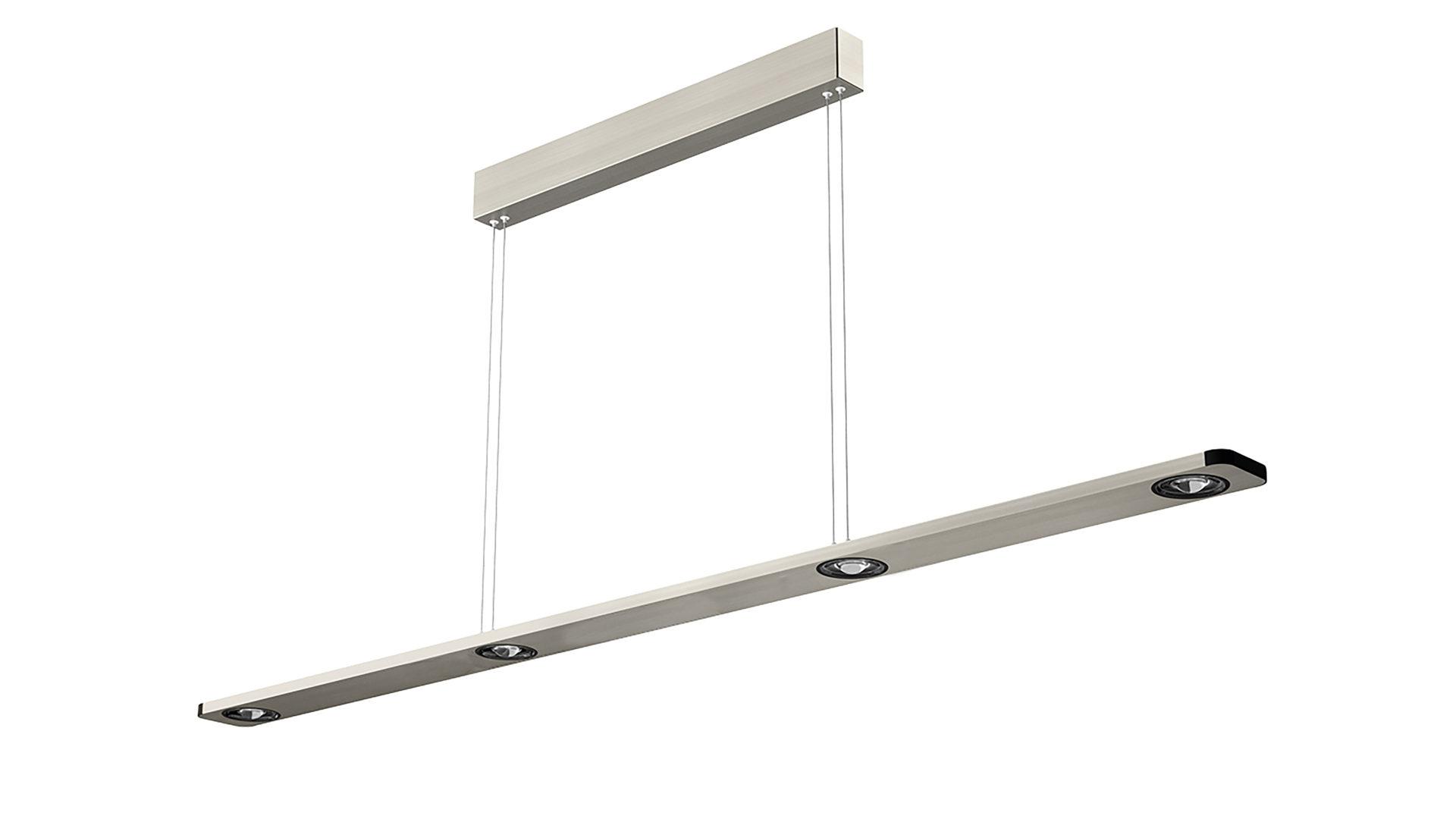 EVOTEC LED Pendelleuchte, Aluminium U0026 Nickel Gebürstet   Ca. 110 Cm Lang,  Bad Homburg Bei Frankfurt